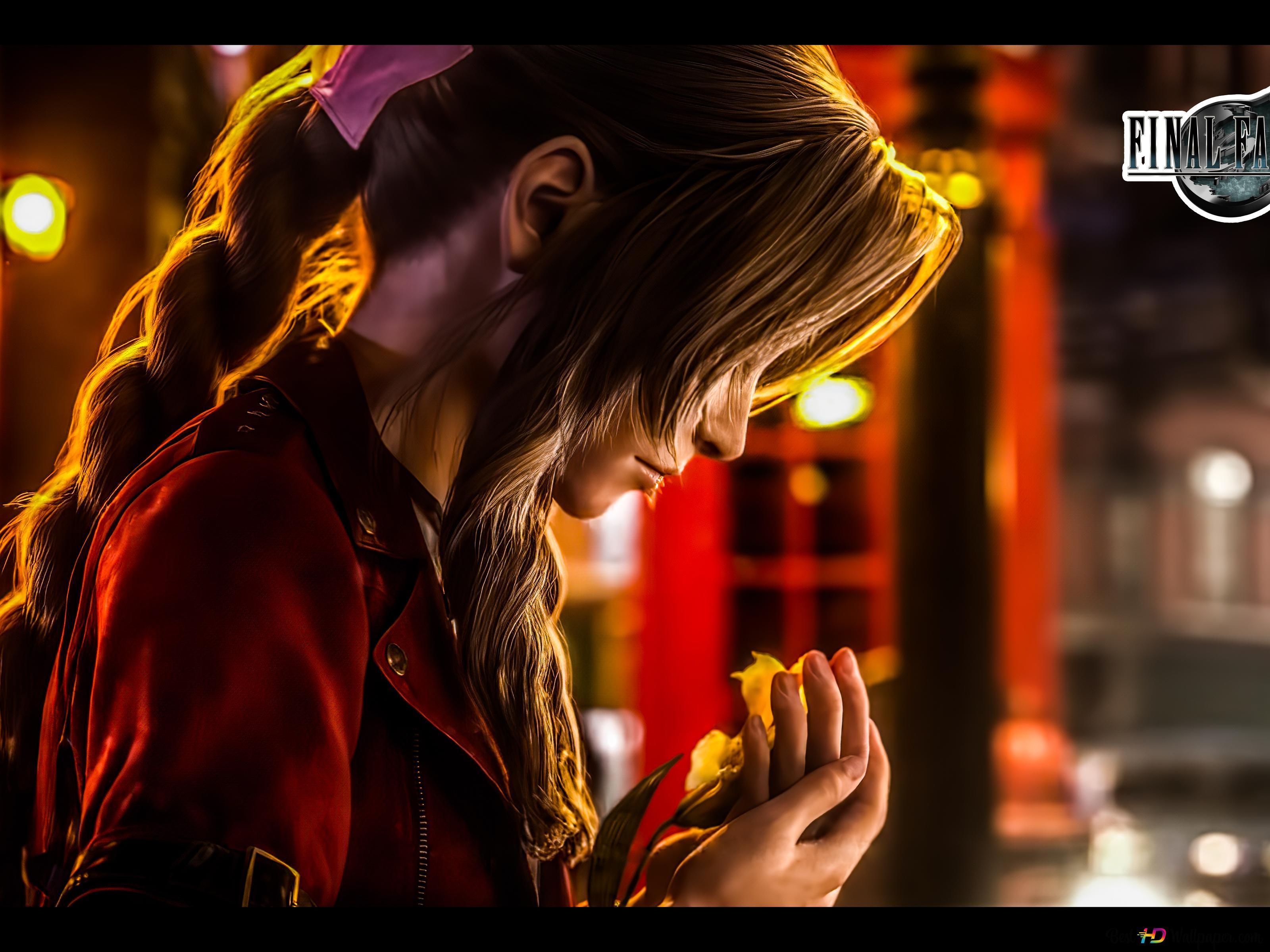Final Fantasy 7 Remake Aeris 8k 4k Hd Wallpaper Download