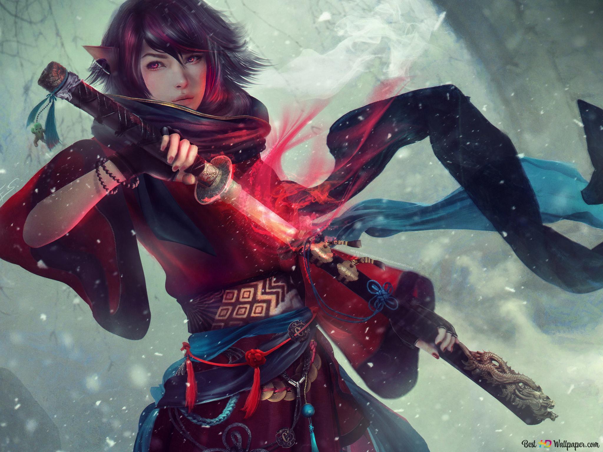 final fantasy original character oc wallpaper 2048x1536 22266 26