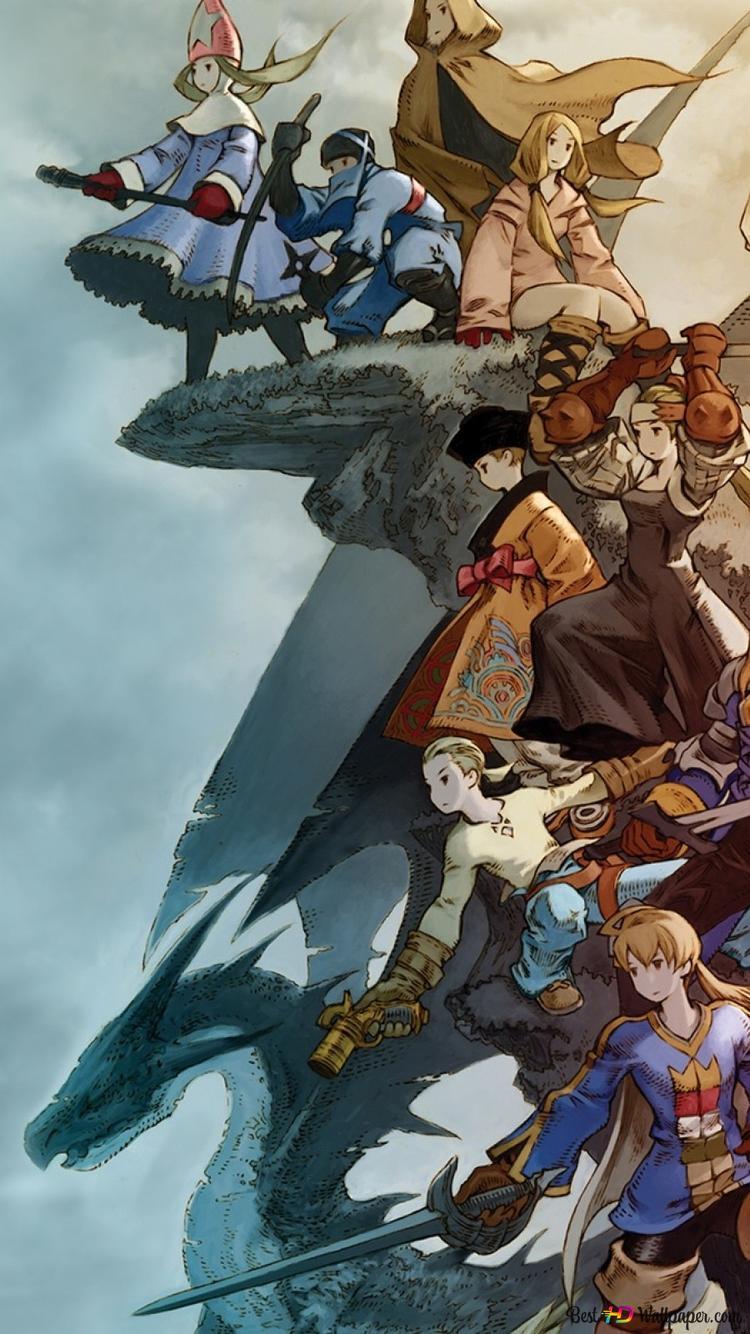 Final Fantasy Tactics Hd Wallpaper Download