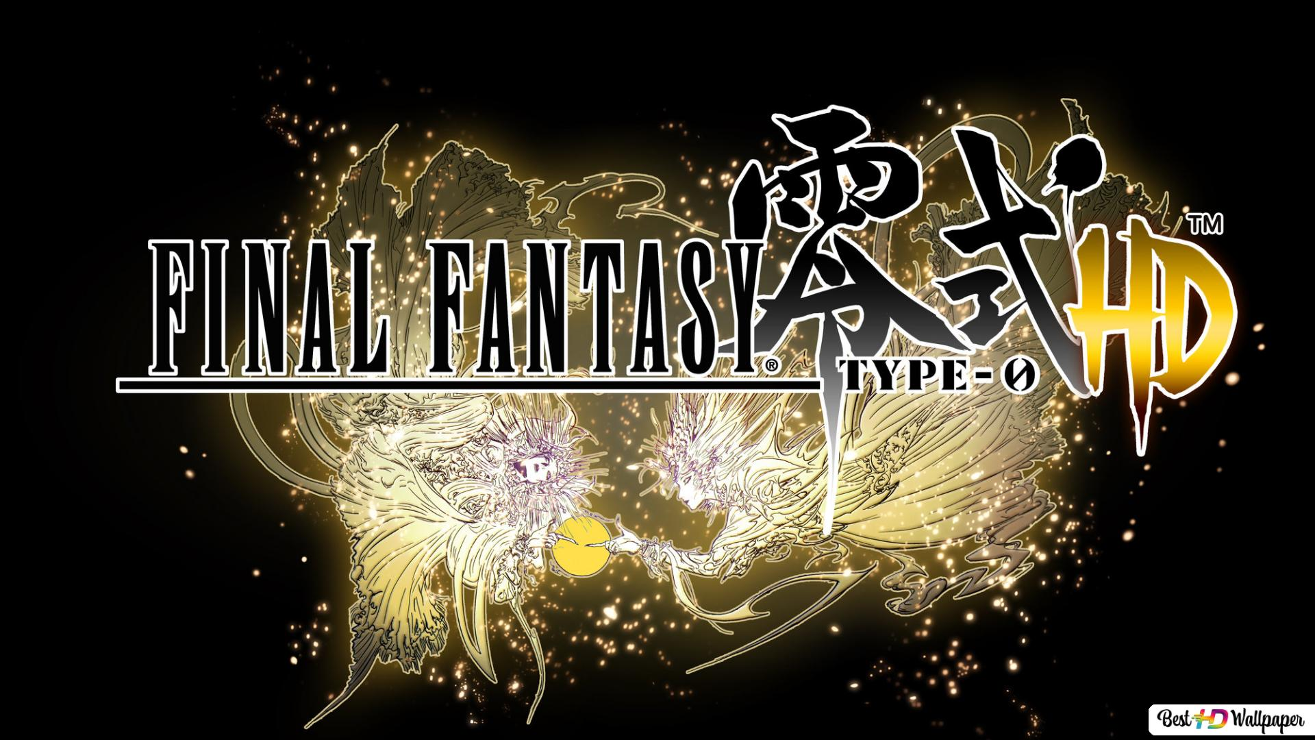Final Fantasy Type 0 Hd Logo Hd Wallpaper Download