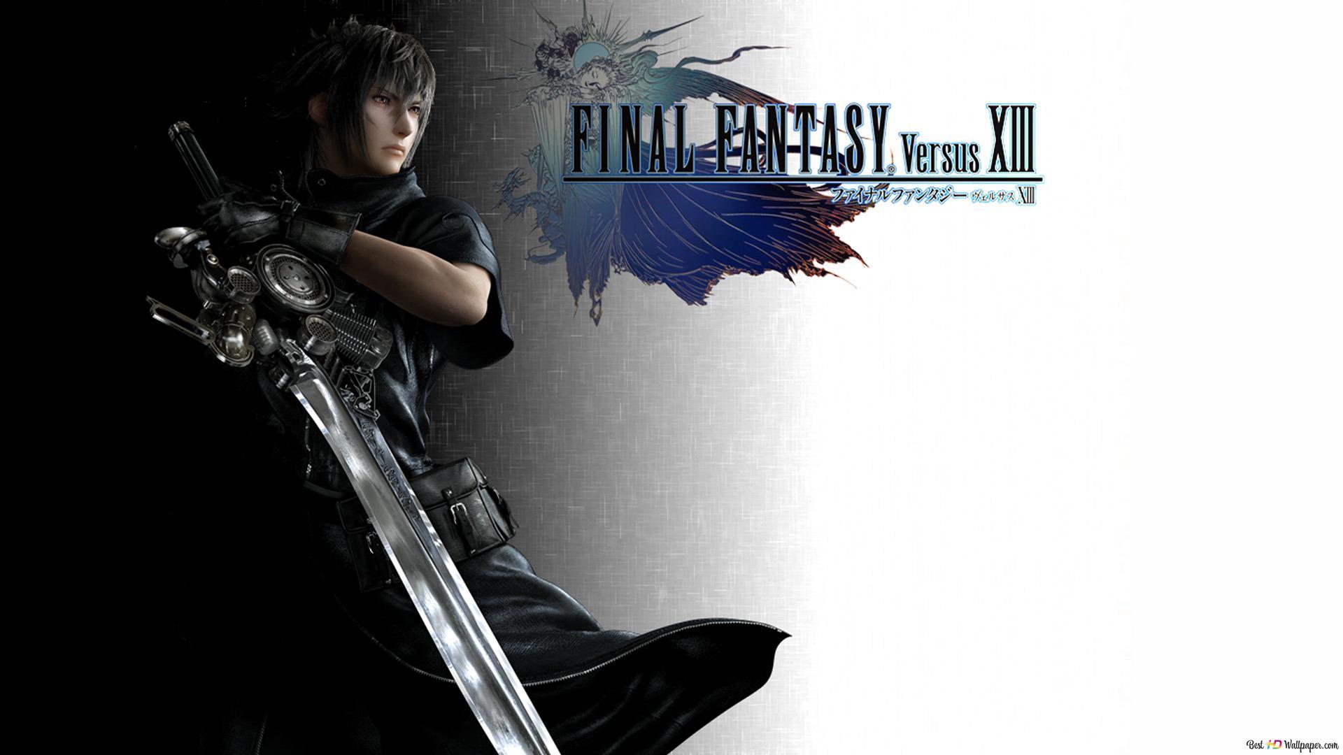 Final Fantasy Versus Xiii Noctis Lucis Caelum Hd Wallpaper Download