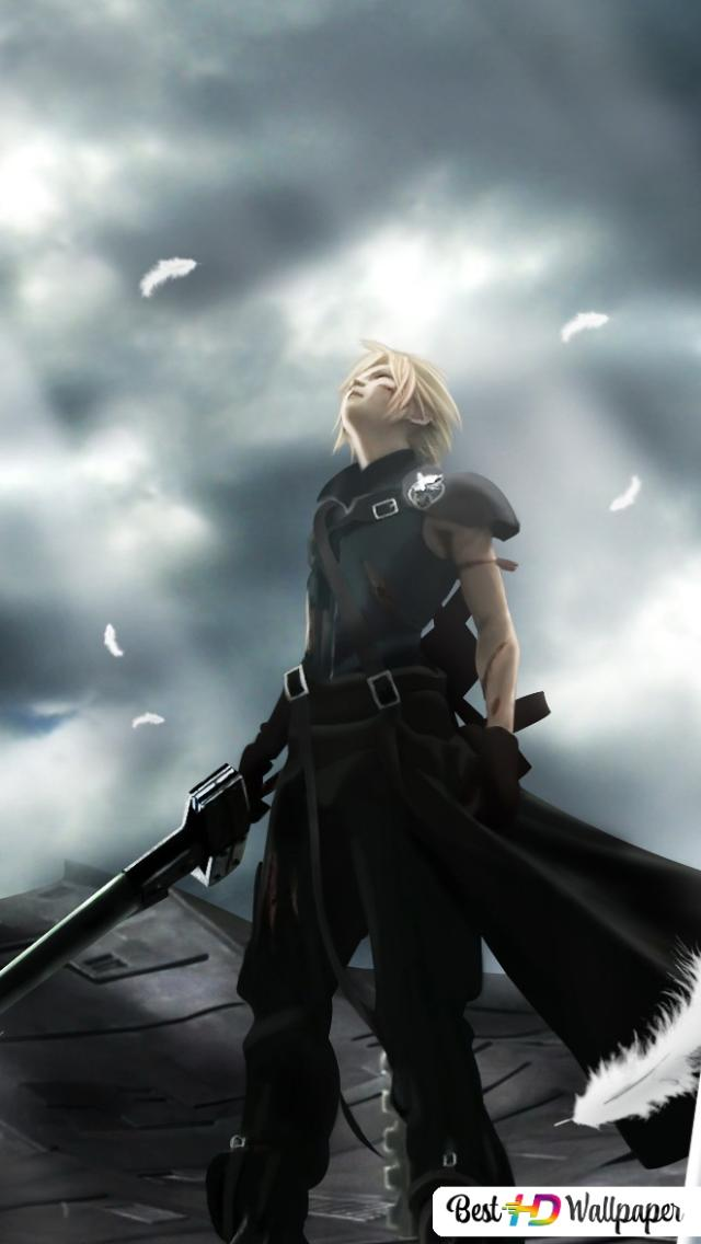 Final Fantasy Vii Advent Children Movie Cloud Strife Hd