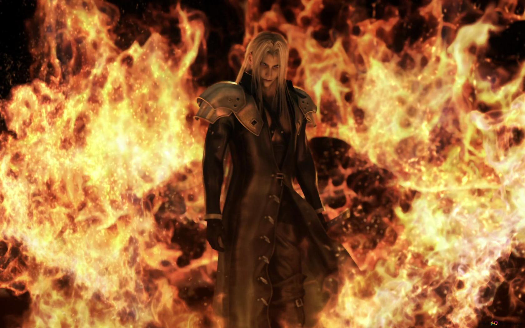 Final Fantasy Vii Advent Children Sephiroth Hd Wallpaper