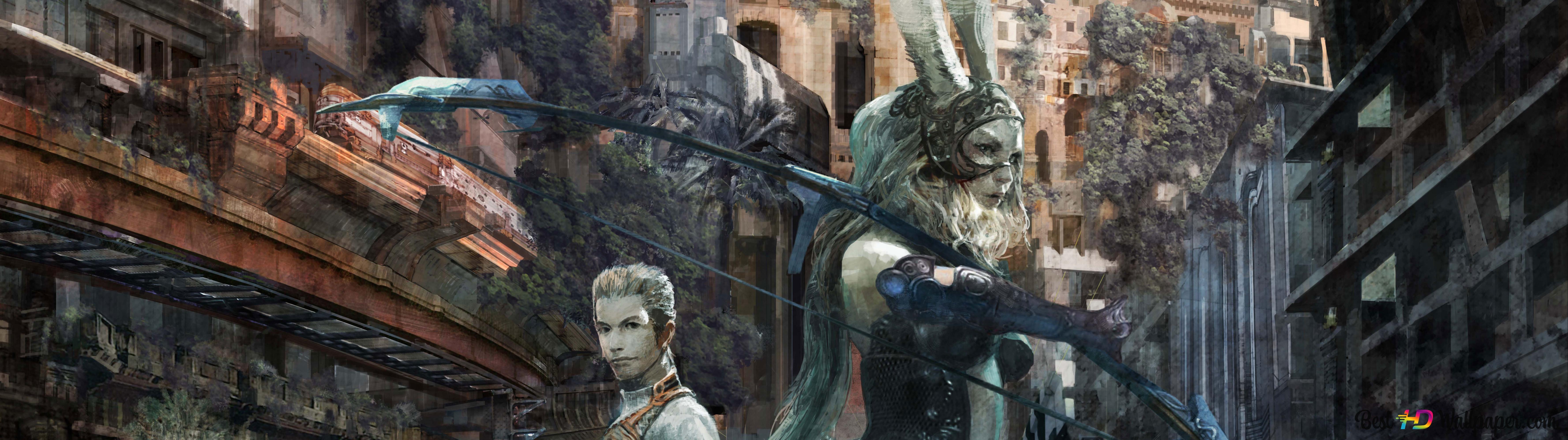 Final Fantasy Xii The Zodiac Age Hd Wallpaper Download
