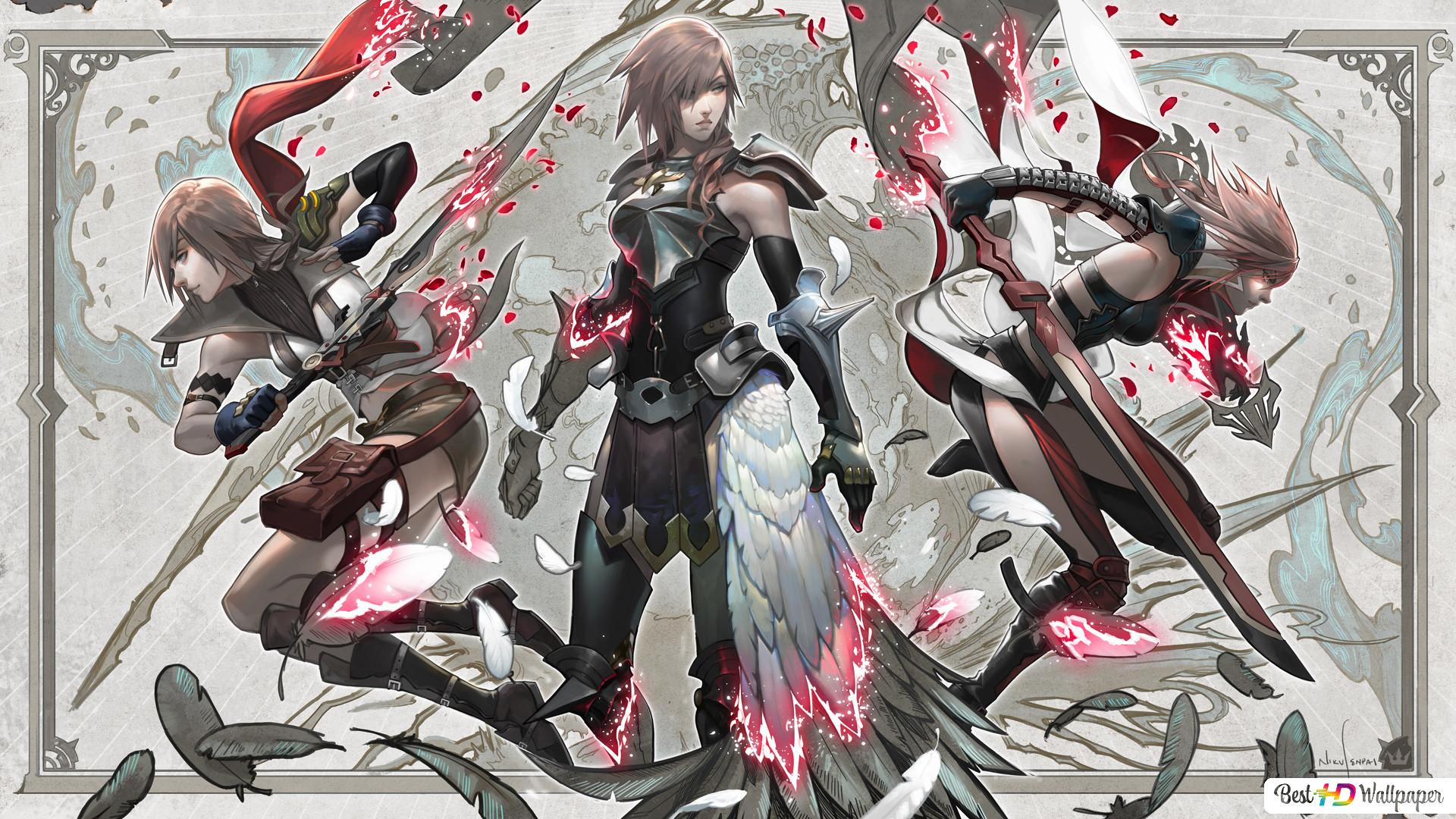 Final Fantasy Xiii Lightning The Goddess Hd Wallpaper Download