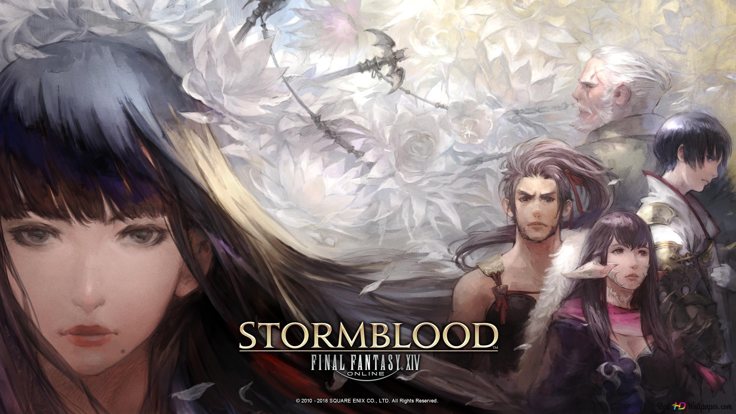 Final Fantasy Xiv Stormblood Au Ra Hyur Yotsuyu Yugiri
