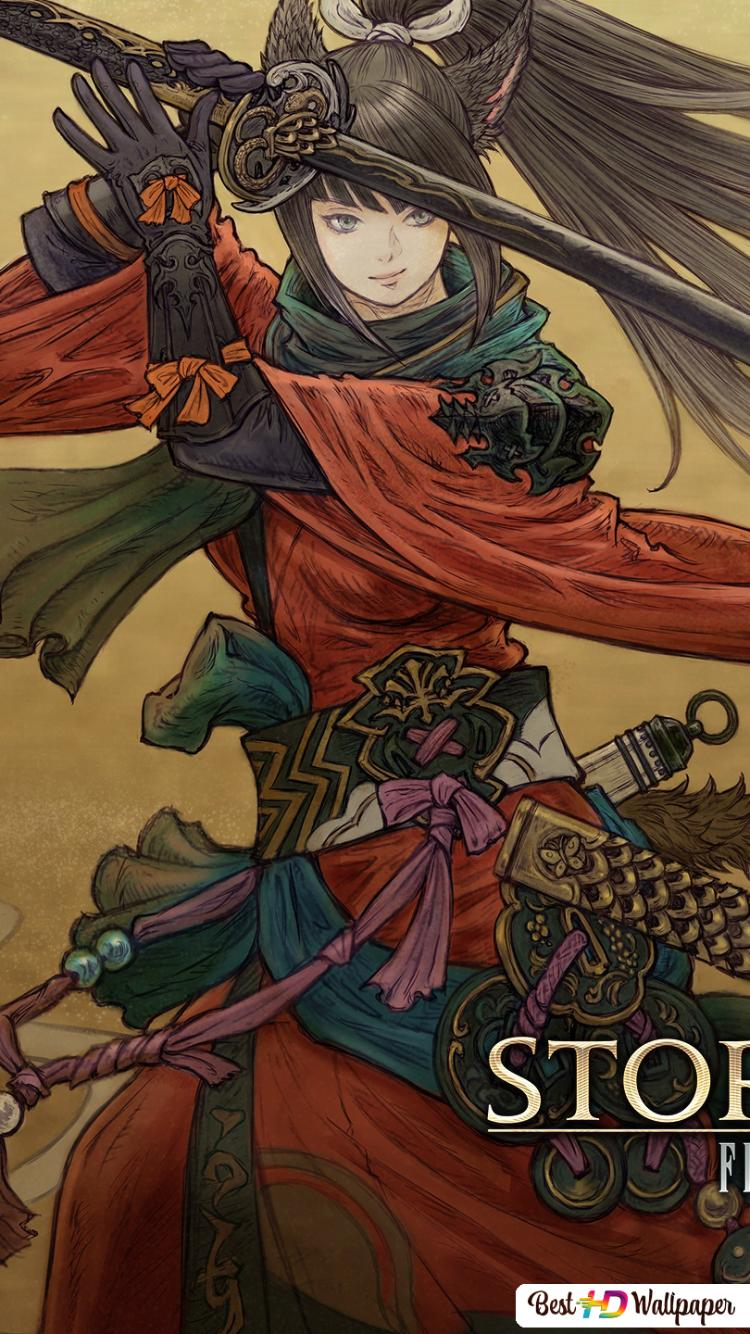 Final Fantasy Xiv Stormblood Miqo Te Hd Wallpaper Download
