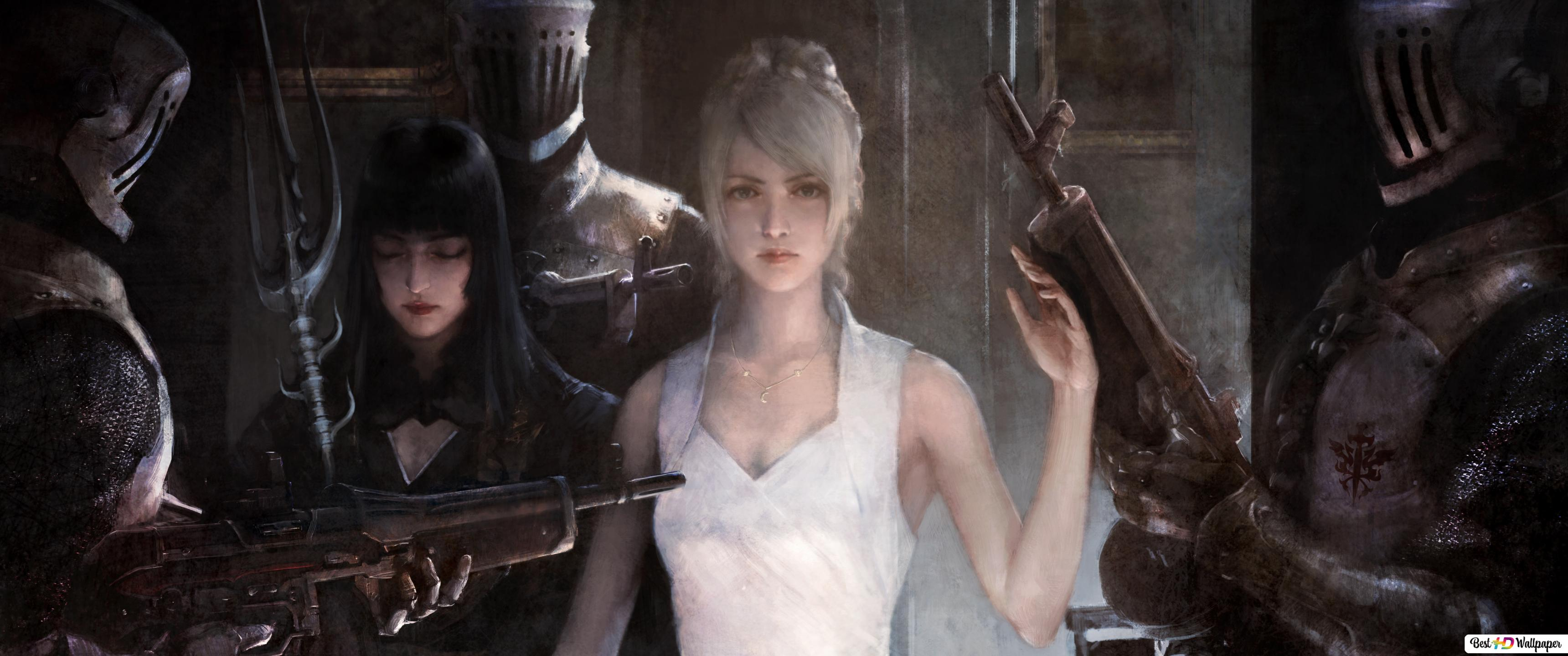 Final Fantasy Xv Luna Hd Wallpaper Download