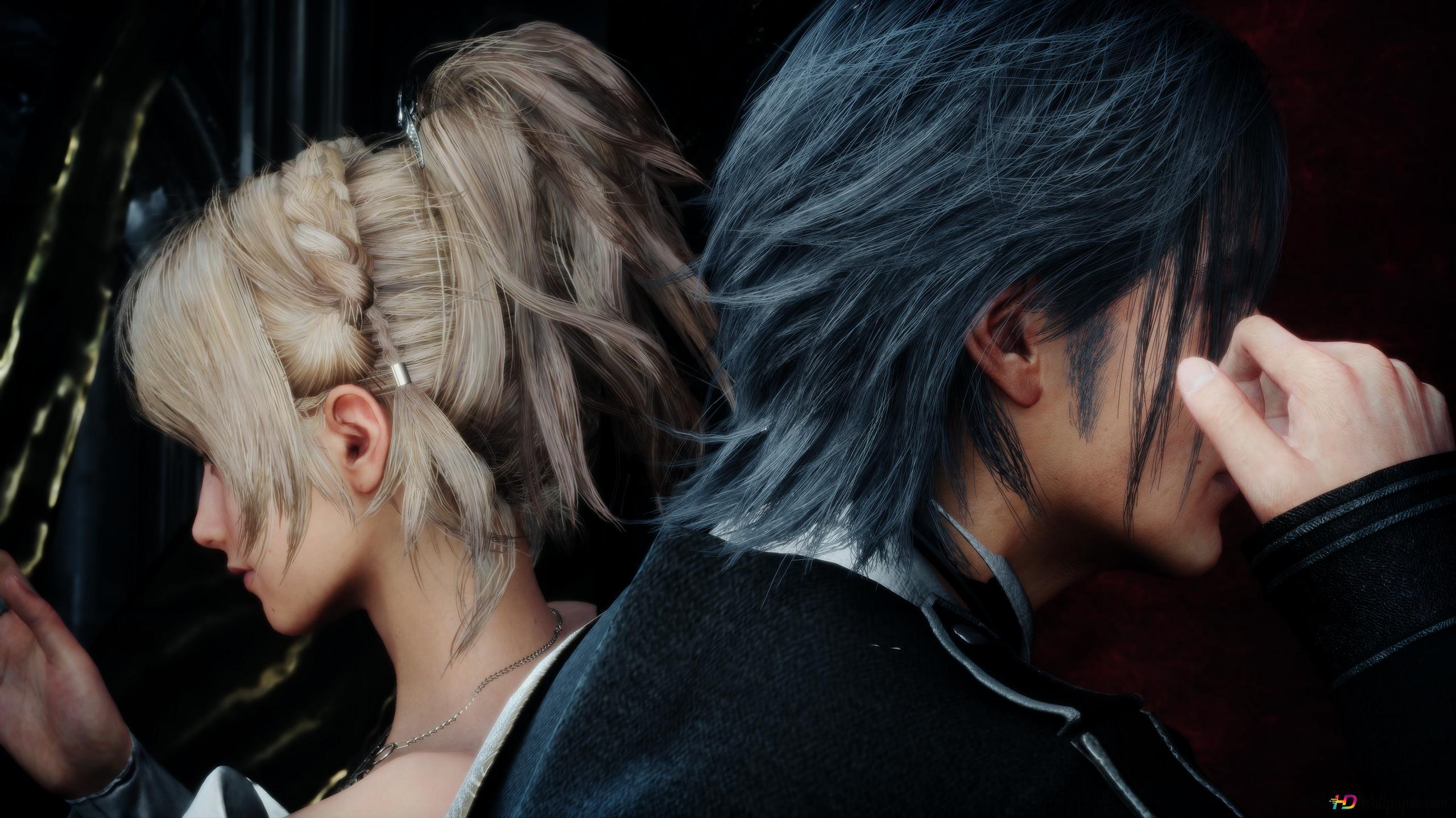 Final Fantasy Xv Noctis Weds Luna Hd Wallpaper Download