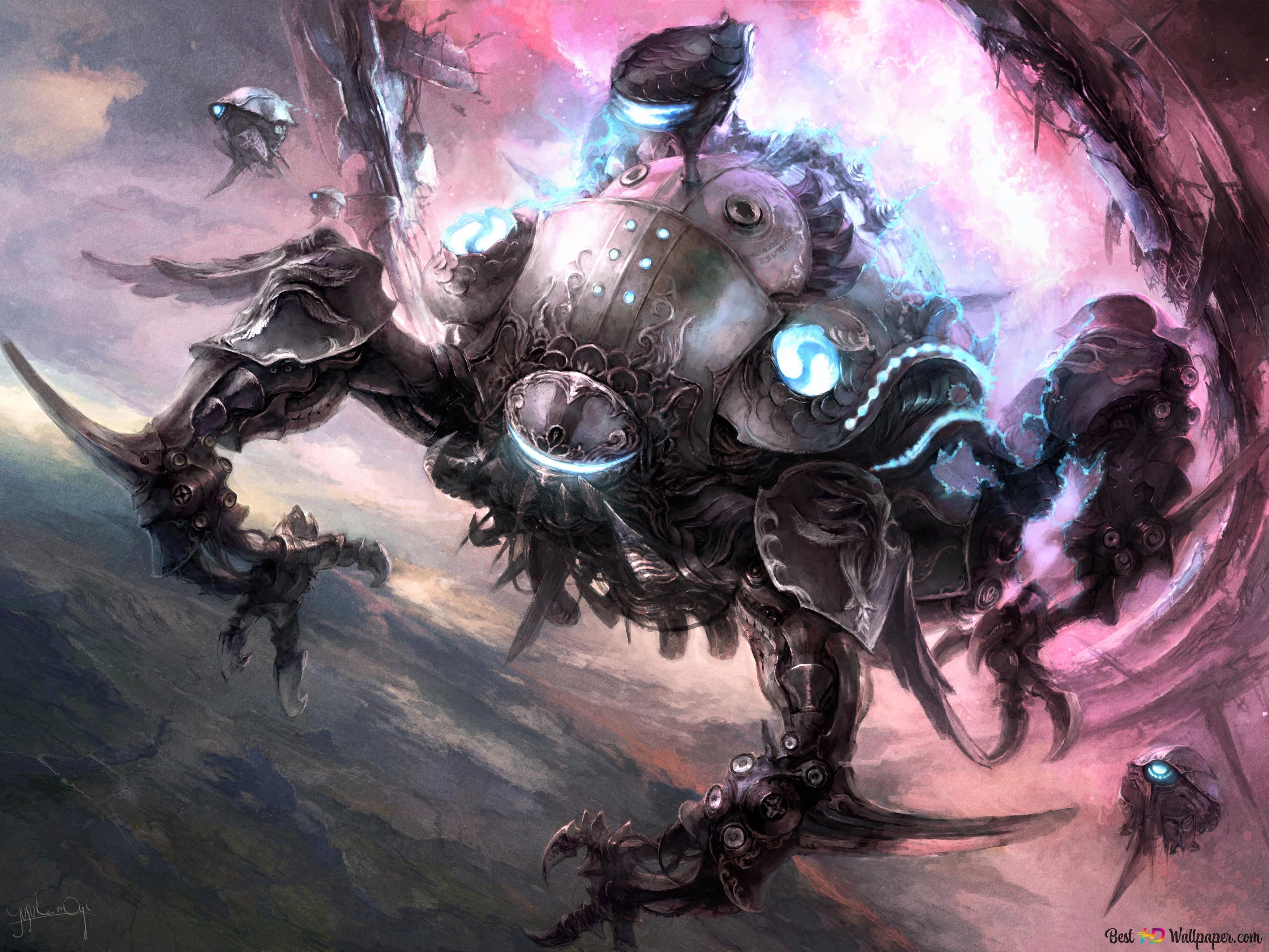 Final Fantasy Xv Stormblood Omega Hd Wallpaper Download