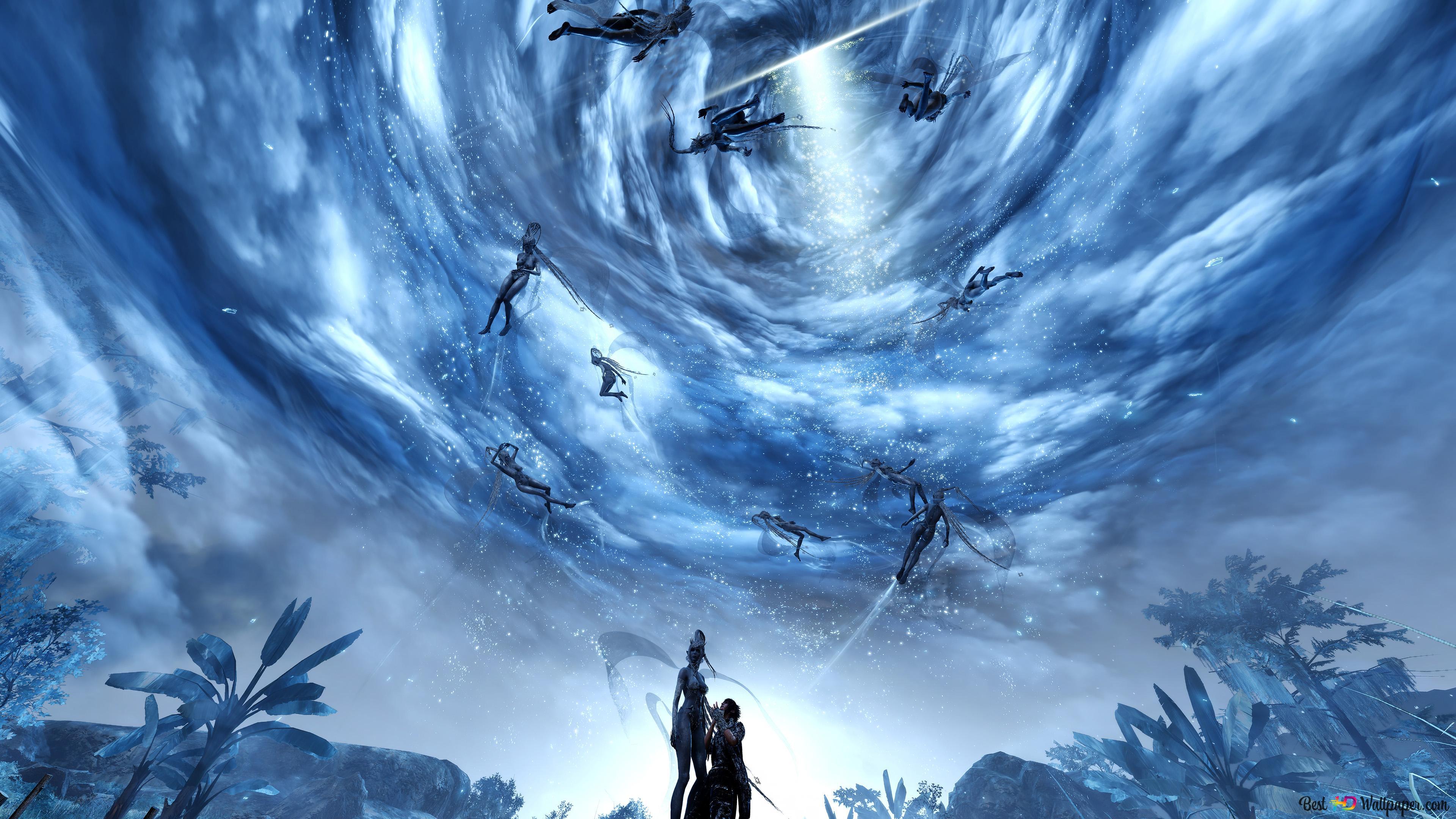 Final Fantasy Xv Strange Sky Hd Wallpaper Download