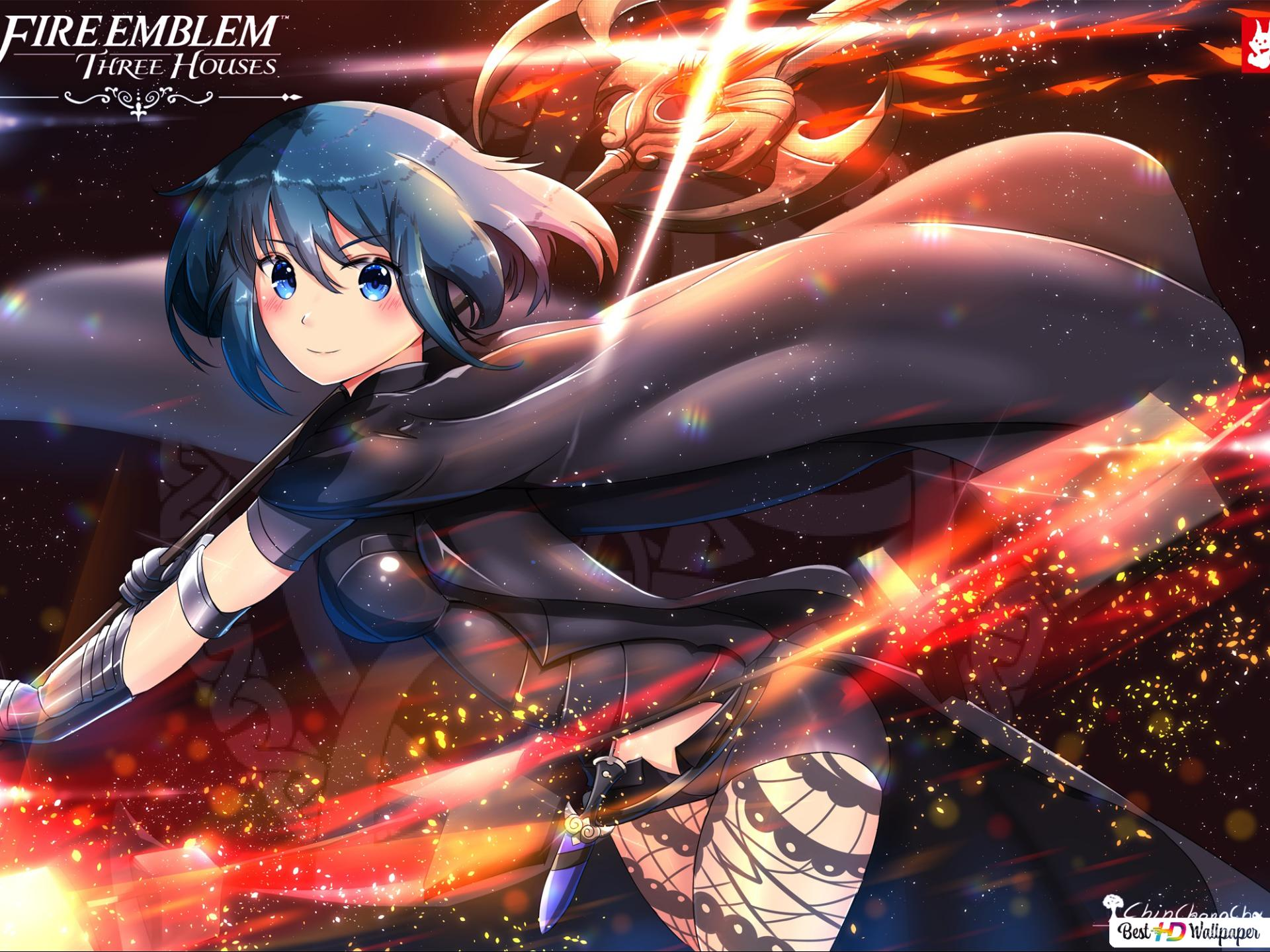 Fire Emblem Three Houses Byleth Hd Wallpaper Download