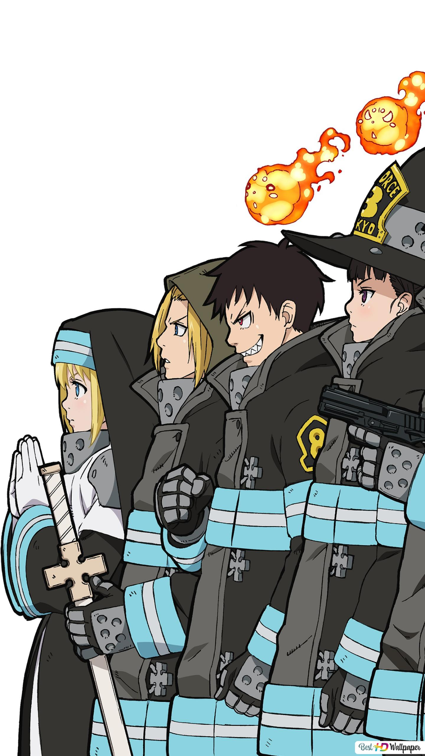 Fire Force Wallpaper Anime Wallpapers Fire force season 2 confirmed for 2020 | manga thrill. fire force wallpaper anime wallpapers