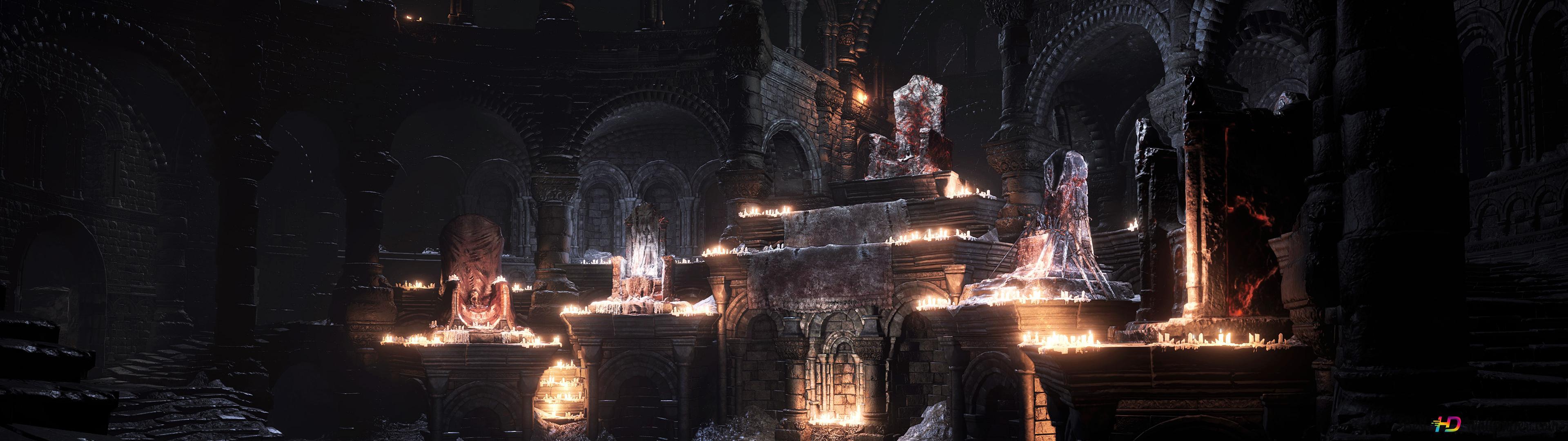 Firelink Shrine Dark Souls Iii Hd Wallpaper Download