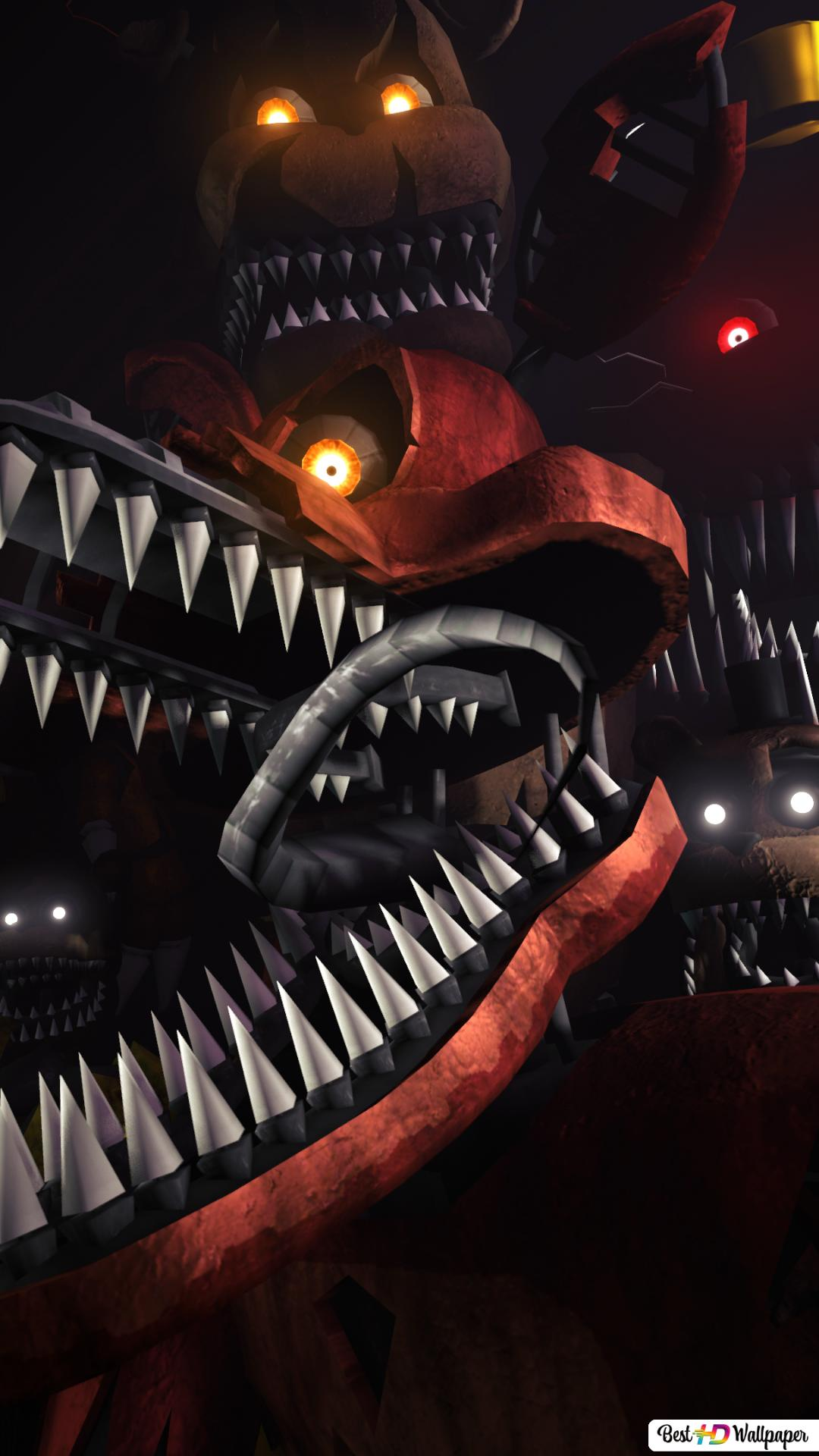 Five nights at freddy's 4 HD wallpaper download