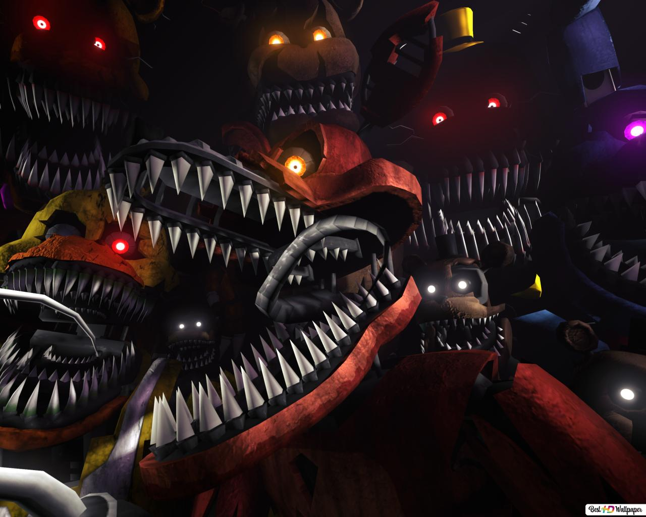 Five Nights At Freddy S 4 Hd Wallpaper Download