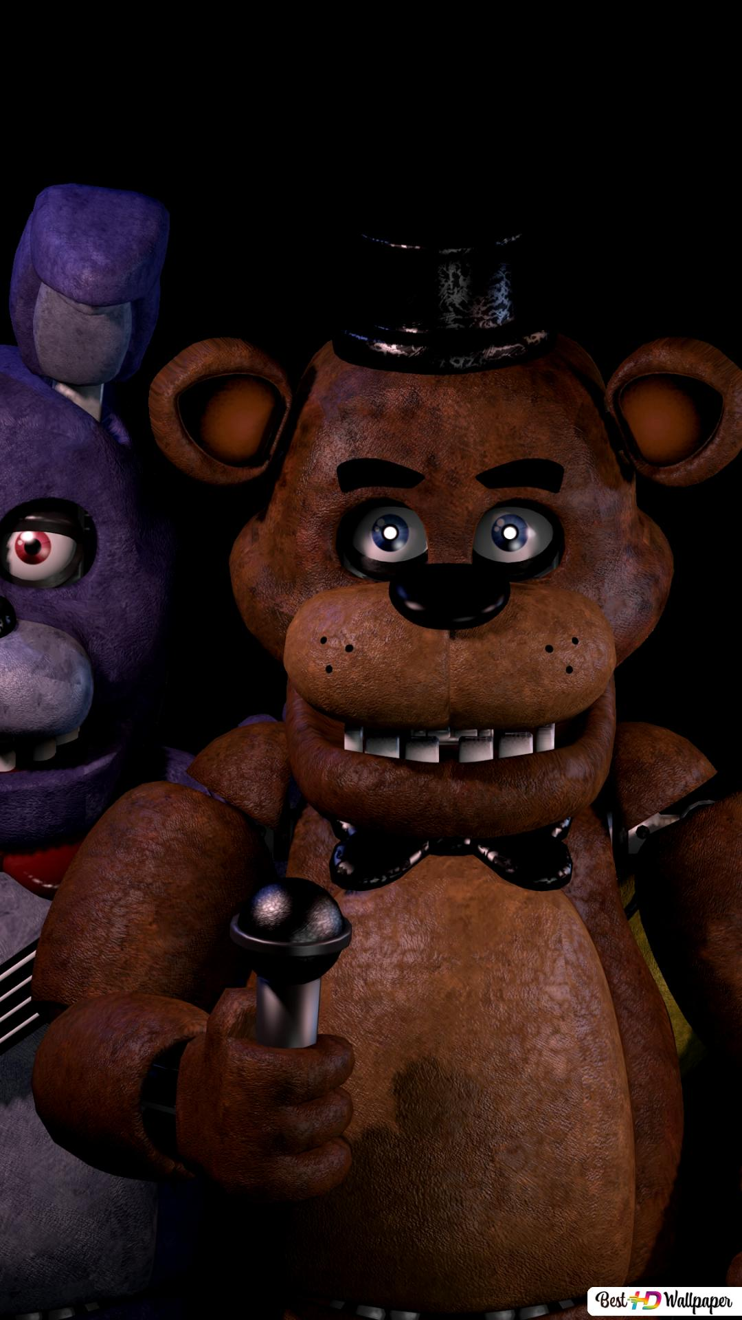 Five Nights At Freddy S Blacklight Hd Wallpaper Download