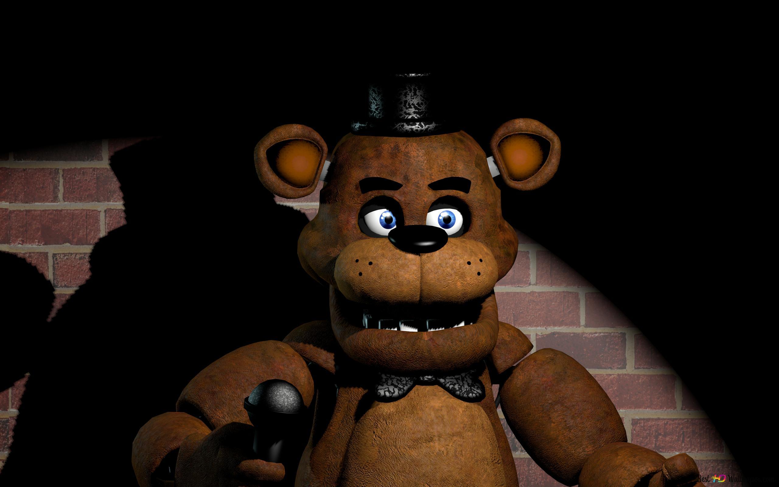 Five Nights At Freddy S Freddy Fazbear Hd Wallpaper Download