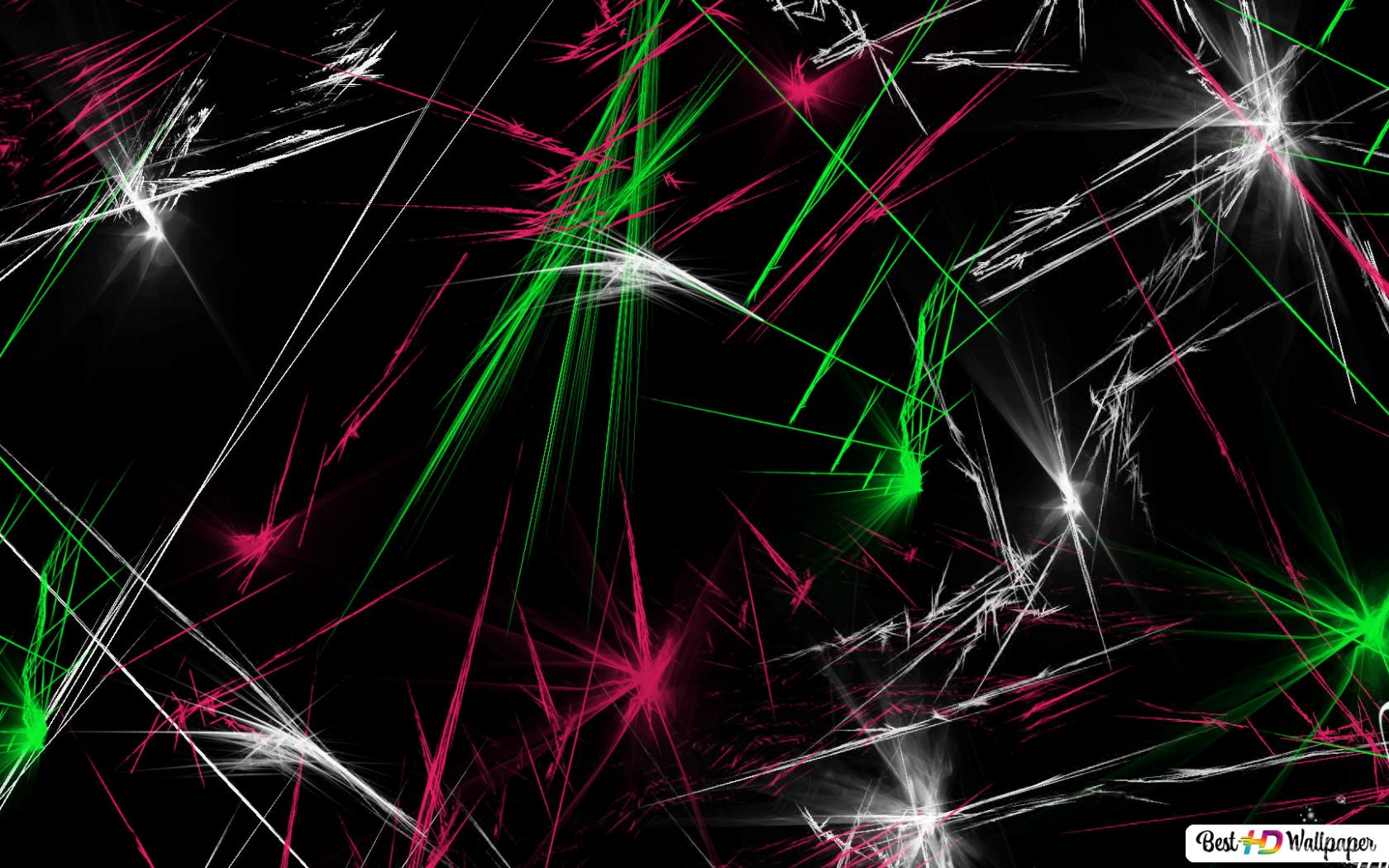 Fluorescent Flashback Hd Wallpaper Download