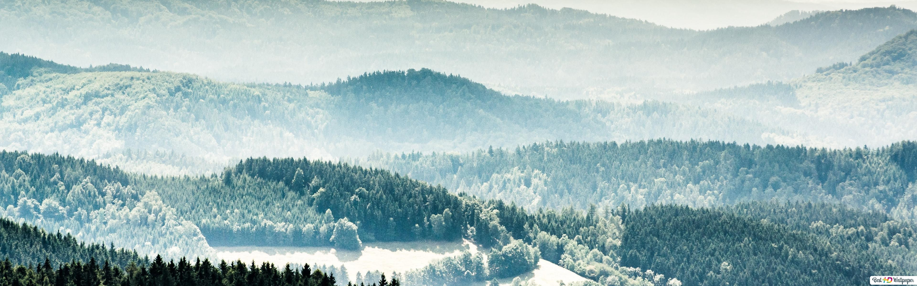 Winter wallpaper 3840x1200