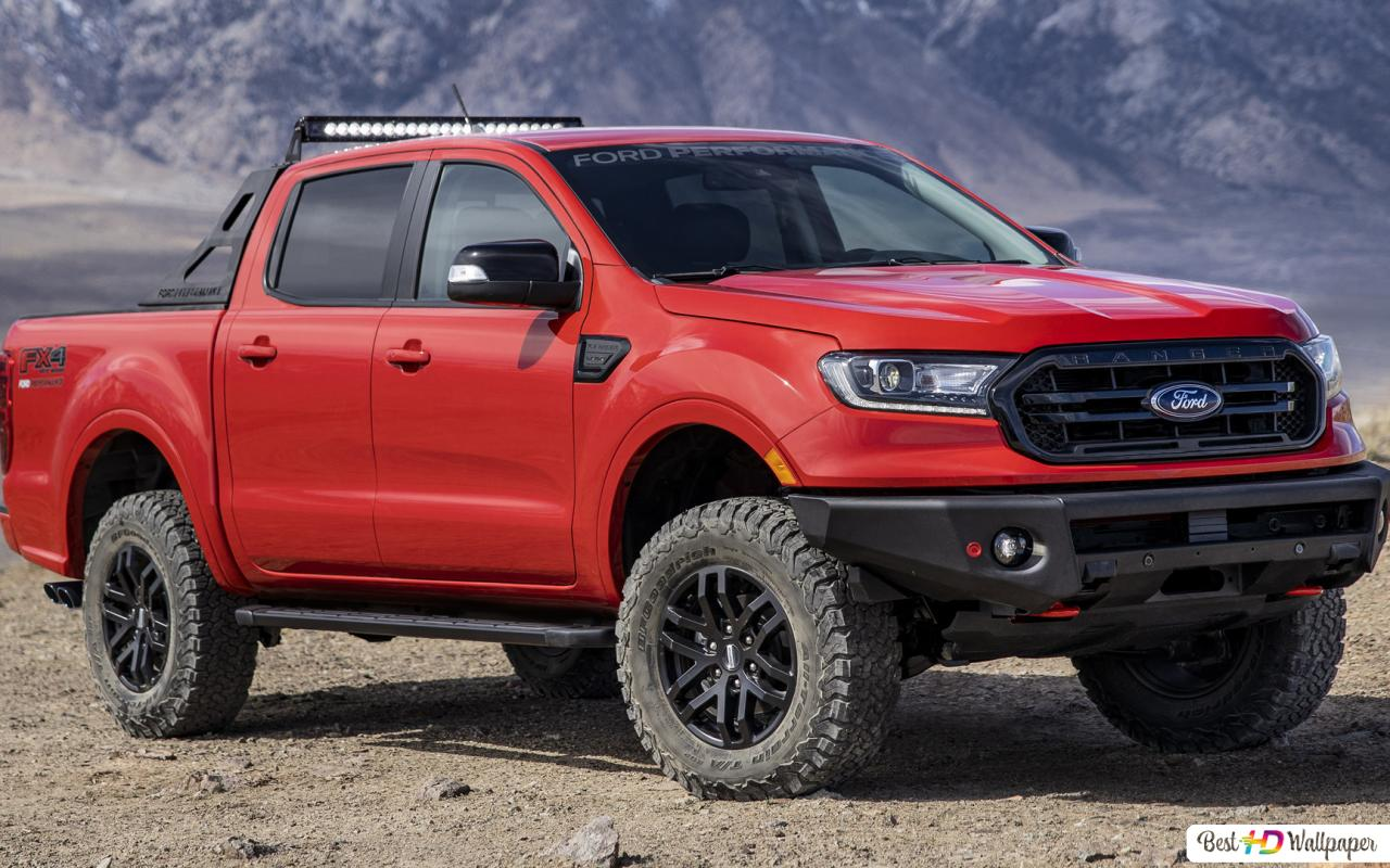 Ford Ranger Lariat Fx4 Supercrew Performance Package 2020 01 Hd Wallpaper Download