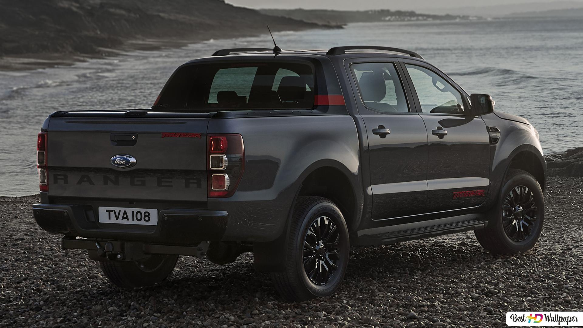 Ford Ranger Thunder Double Cab 2020 03 Hd Wallpaper Download