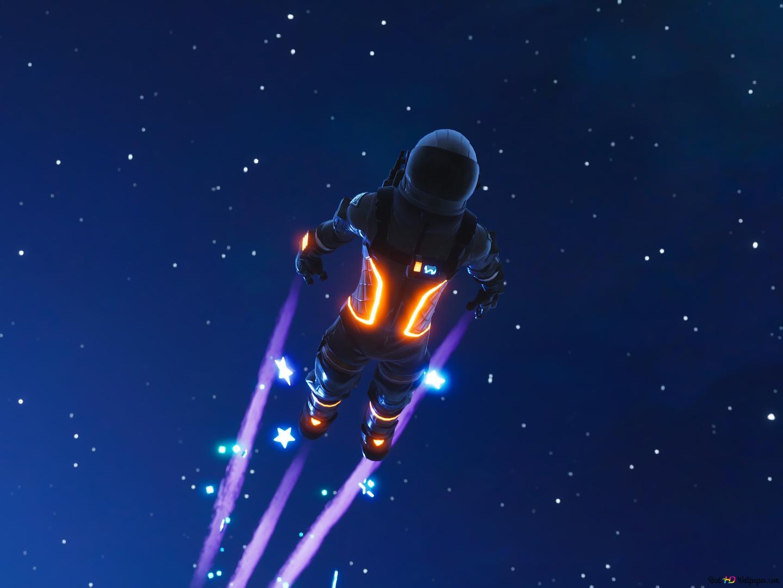 Fortnite: Battle Royale - Dark Voyager HD wallpaper download