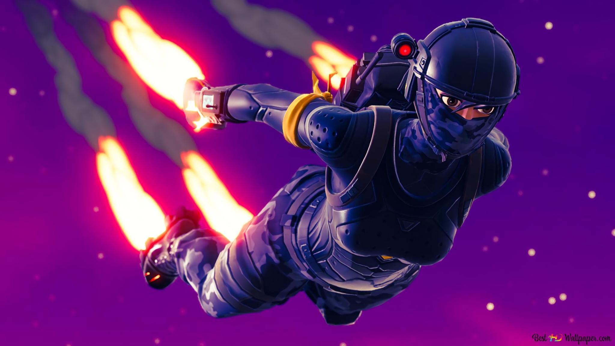 Fortnite Battle Royale Elite Agent Hd Wallpaper Download
