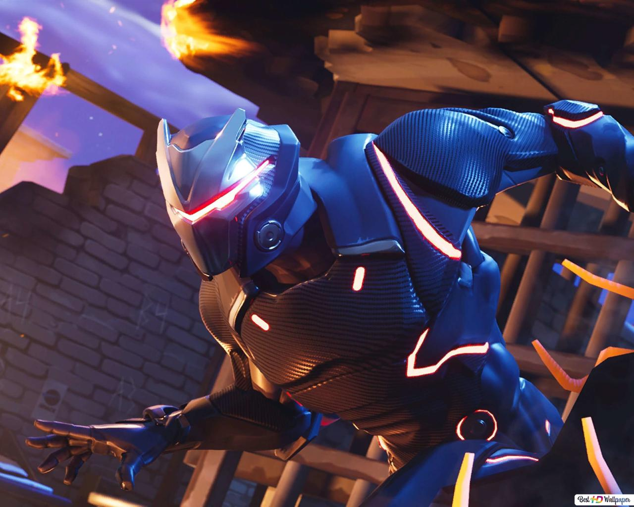 Descargar Fondo De Pantalla Fortnite Battle Royale Omega