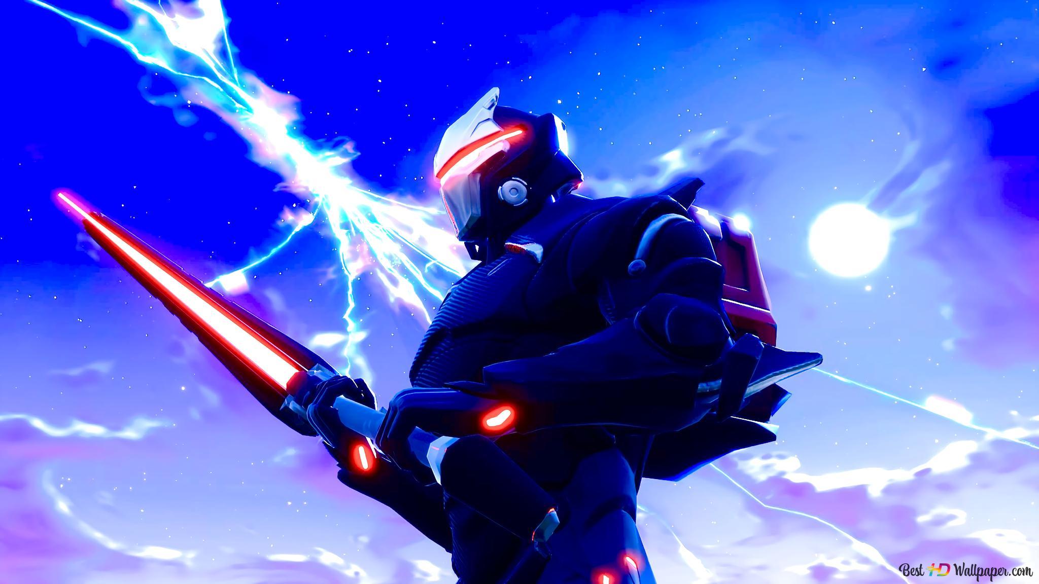 Fortnite Battle Royale Omega Hd Wallpaper Download