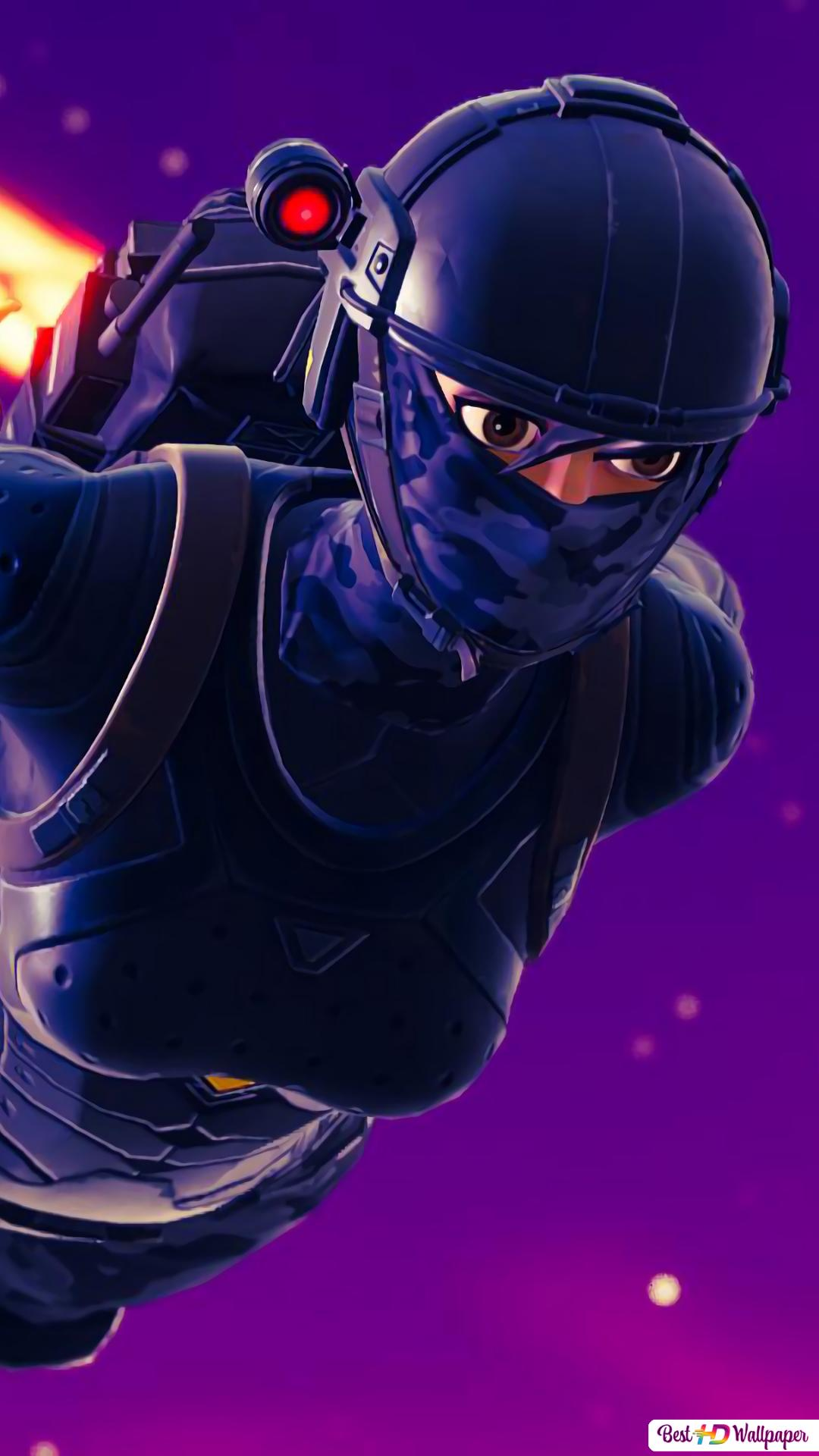 Fortnite Schlacht Royale Elite Agent Hd Hintergrundbilder Herunterladen
