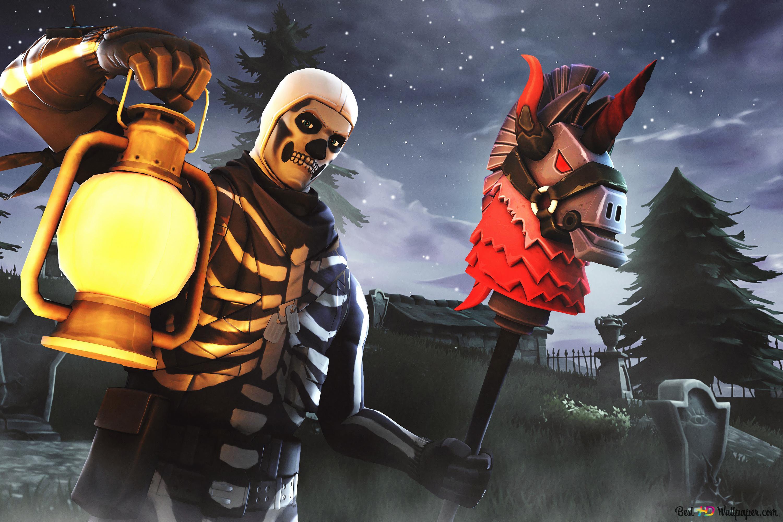 Fortnite Skull Trooper Hd Wallpaper Download