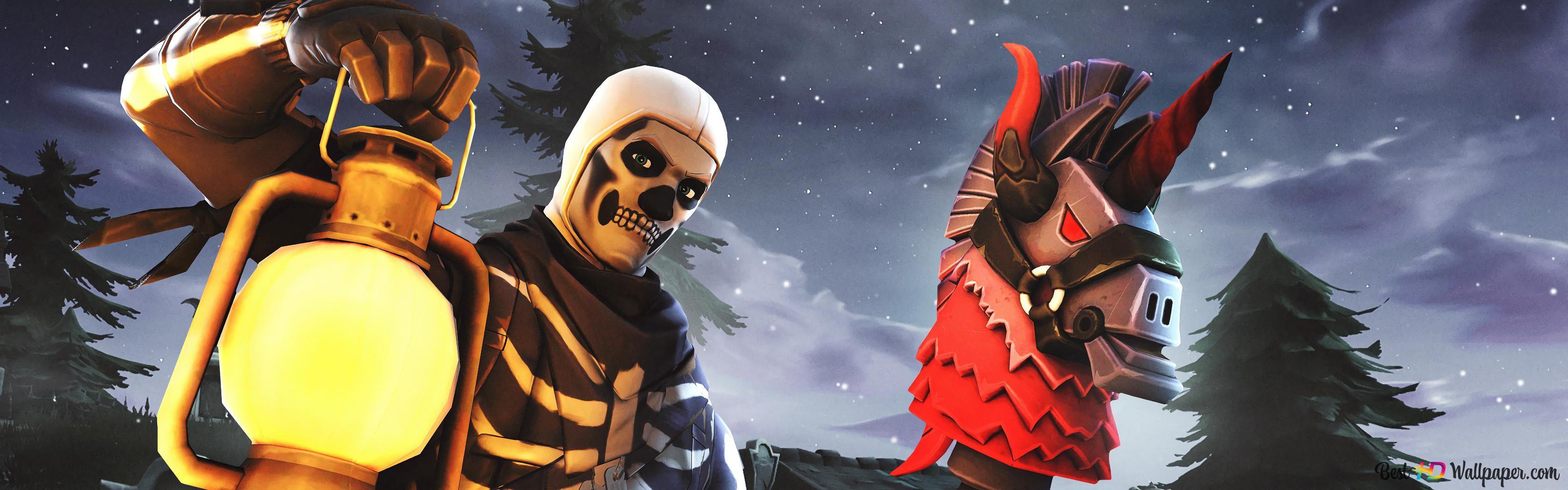 2048x1152 Fortnite Skull Trooper Www Topsimages Com