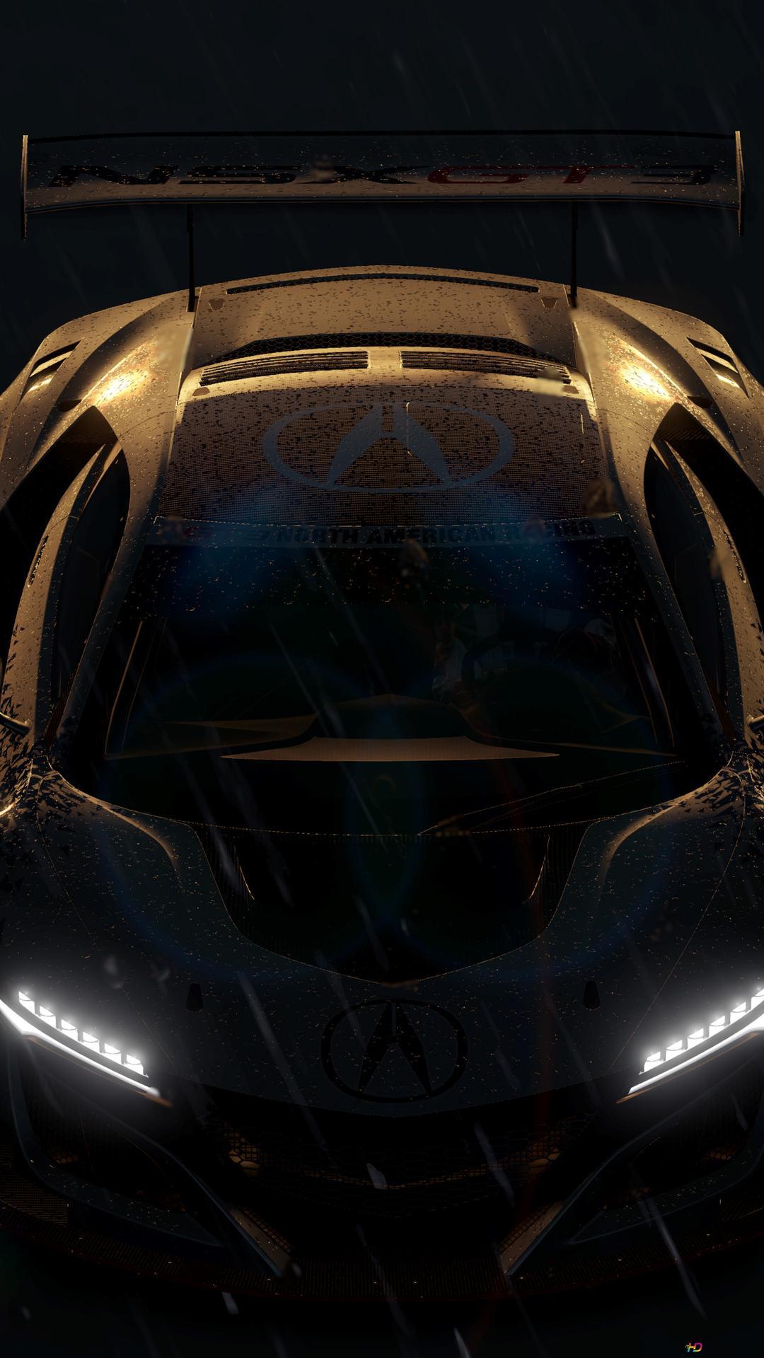Forza Horizon 3 game - Acura NSX GT3 HD wallpaper download
