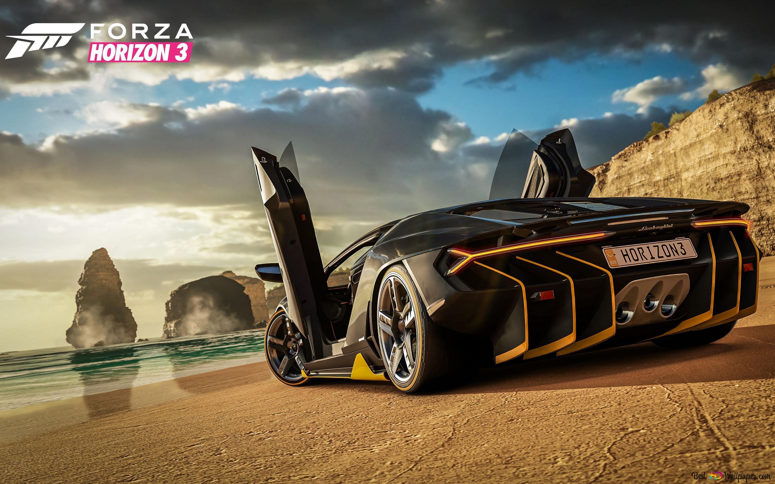 Forza Horizon 3 Game Lamborghini Centenario Hd Wallpaper Download