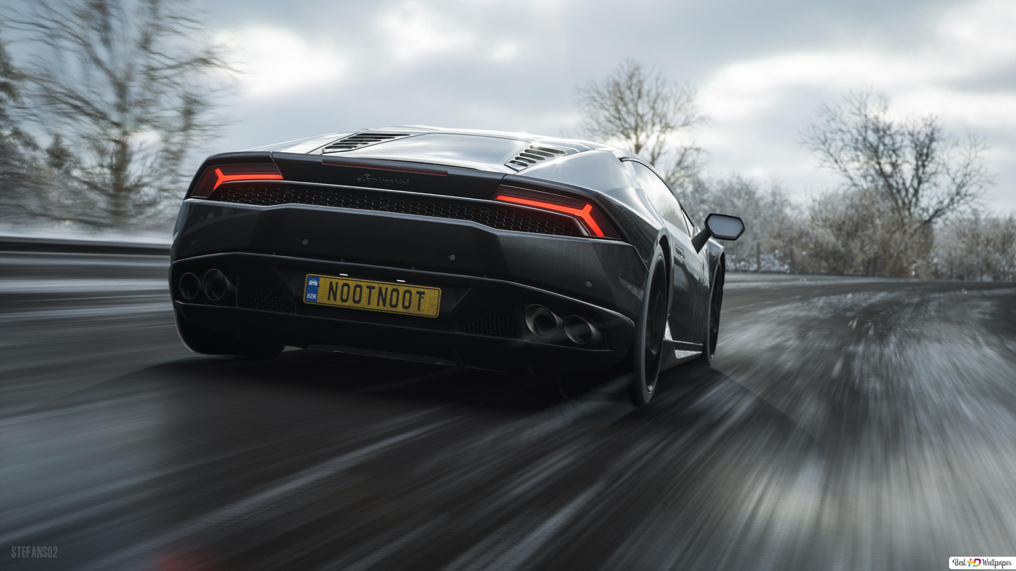 Forza Horizon 4 Game Lamborghini Huracan Hd Wallpaper Download