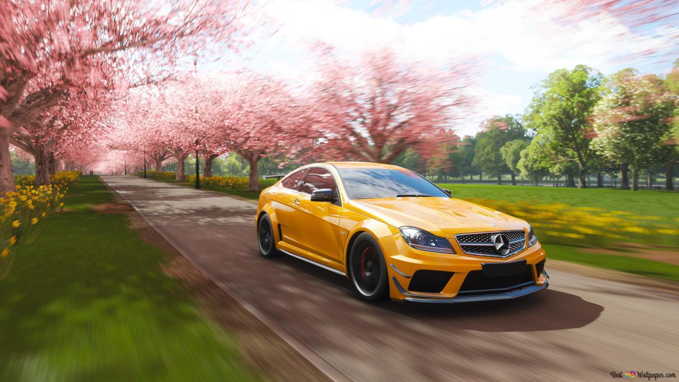 Descargar Fondo De Pantalla Forza Horizon 4 Juego Mercedes