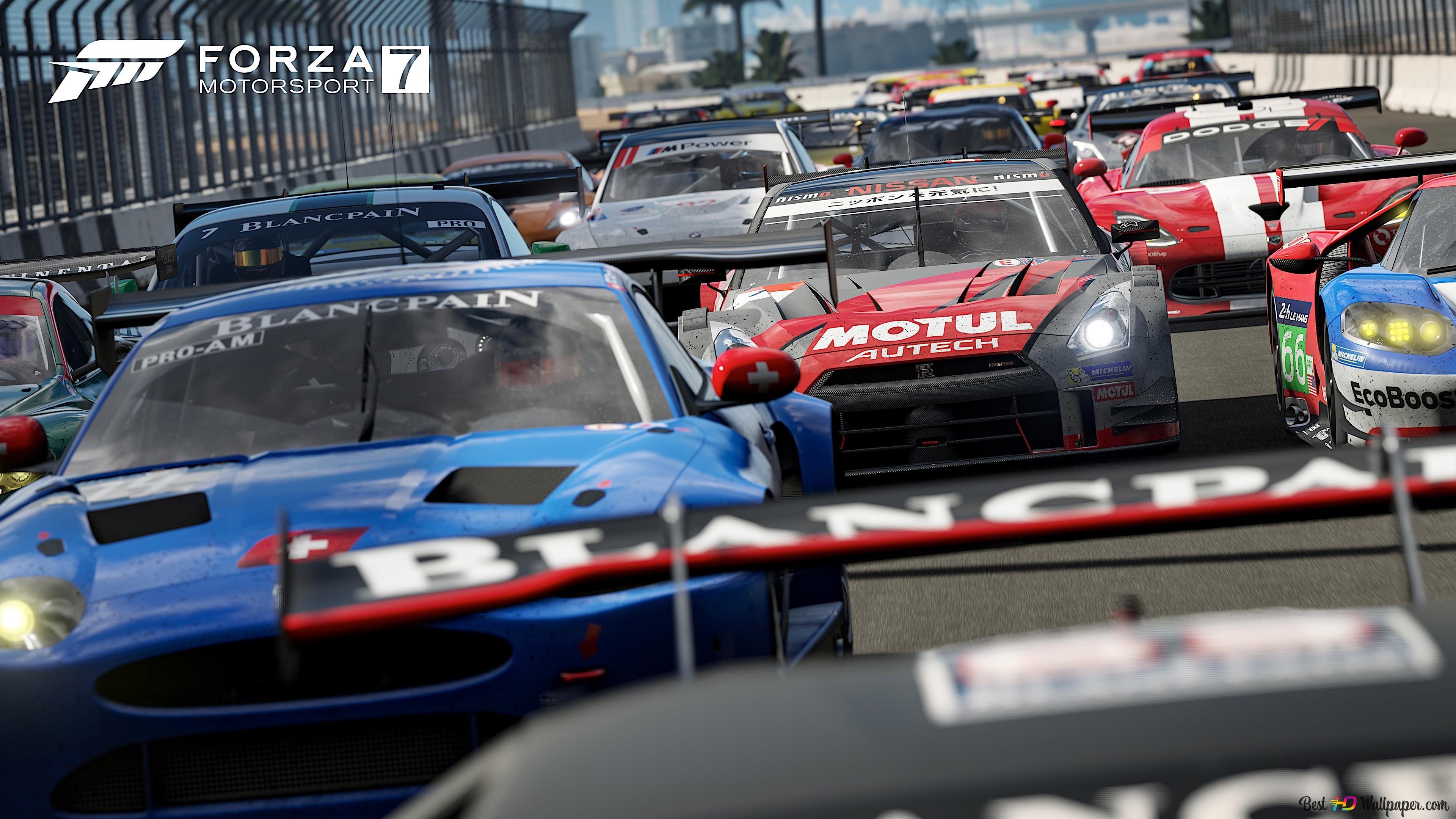 Forza Motorsport 7 Racing Sport Cars Hd Wallpaper Download