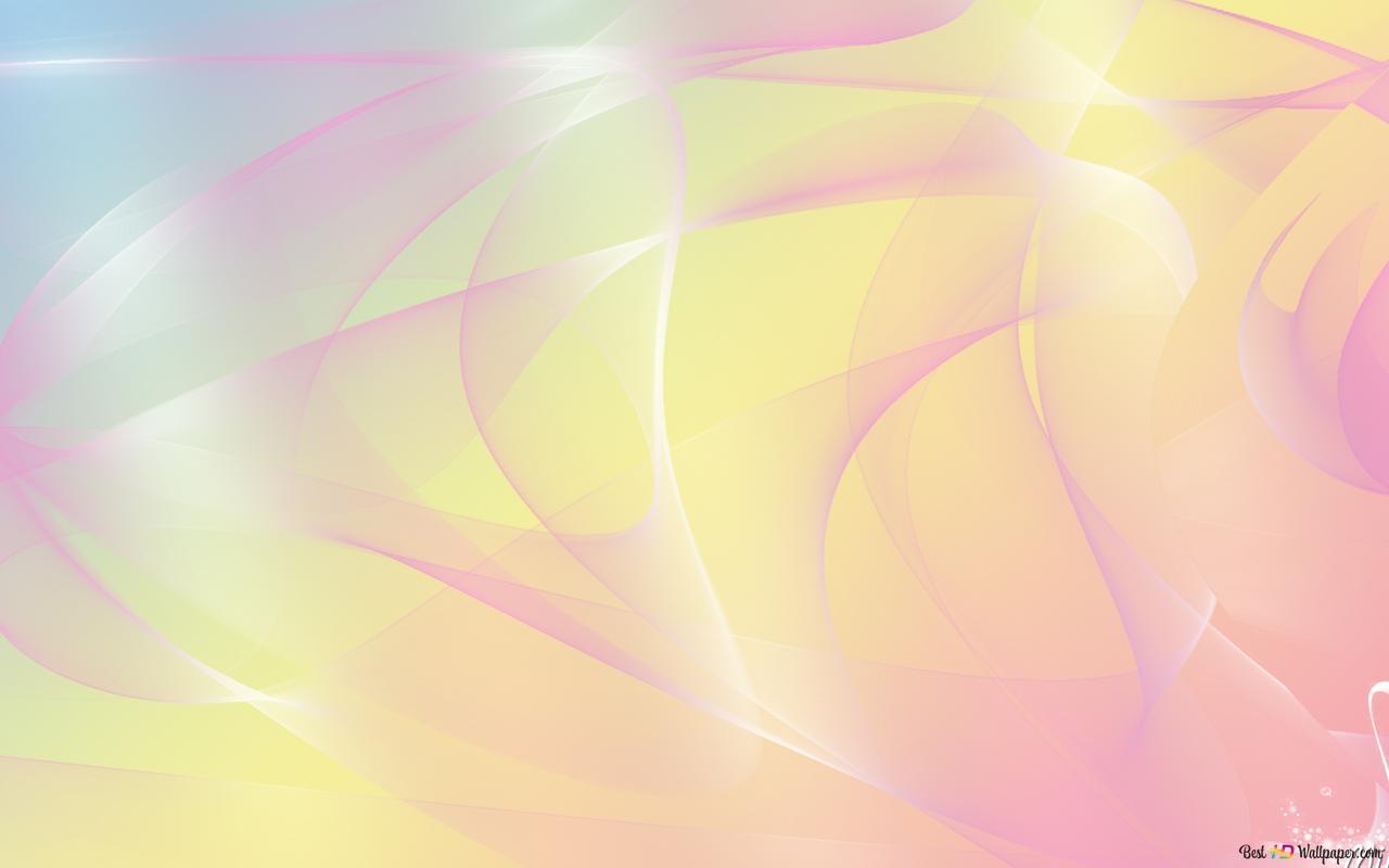 Descargar Fondo De Pantalla Fractal En Colores Pastel HD