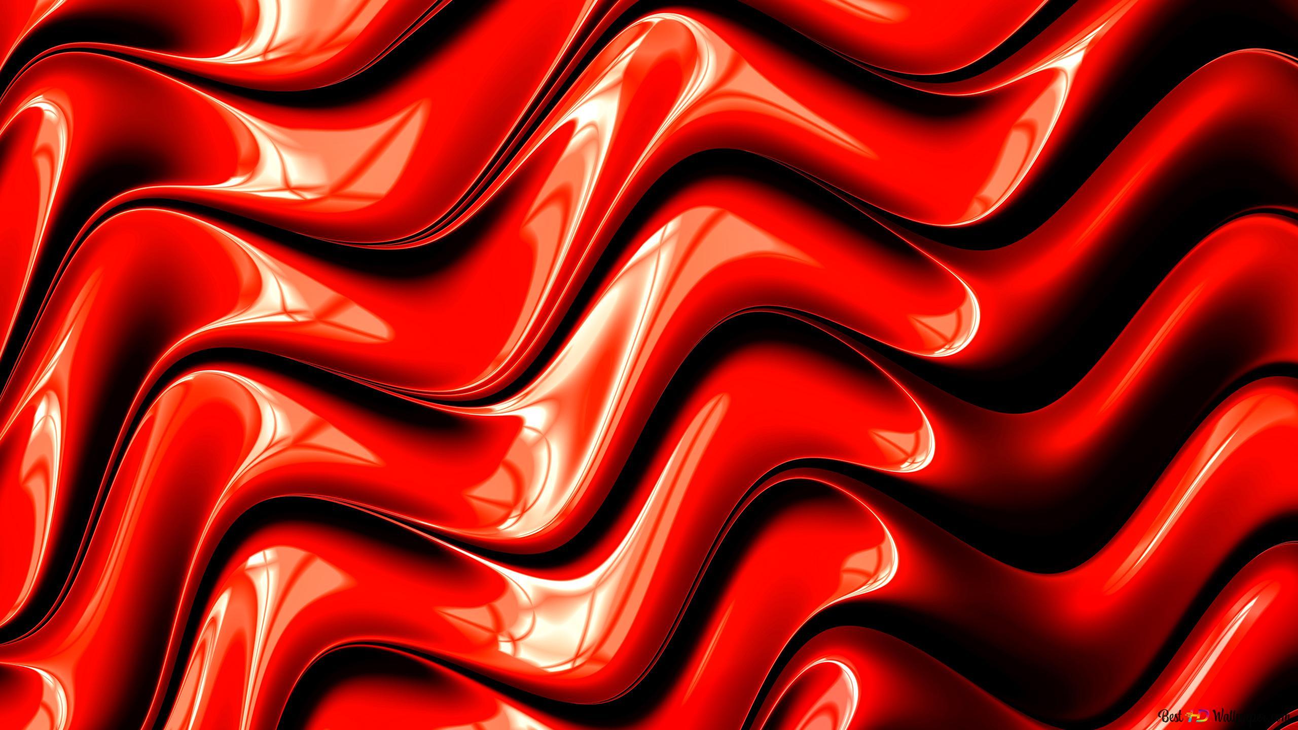 Fractales Rouge Numérique Hd Fond Décran Télécharger