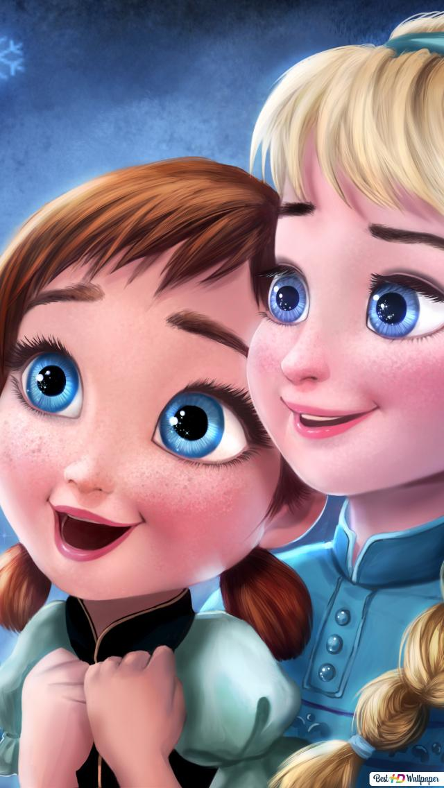 Frozen - Elsa and Anna's childhood HD