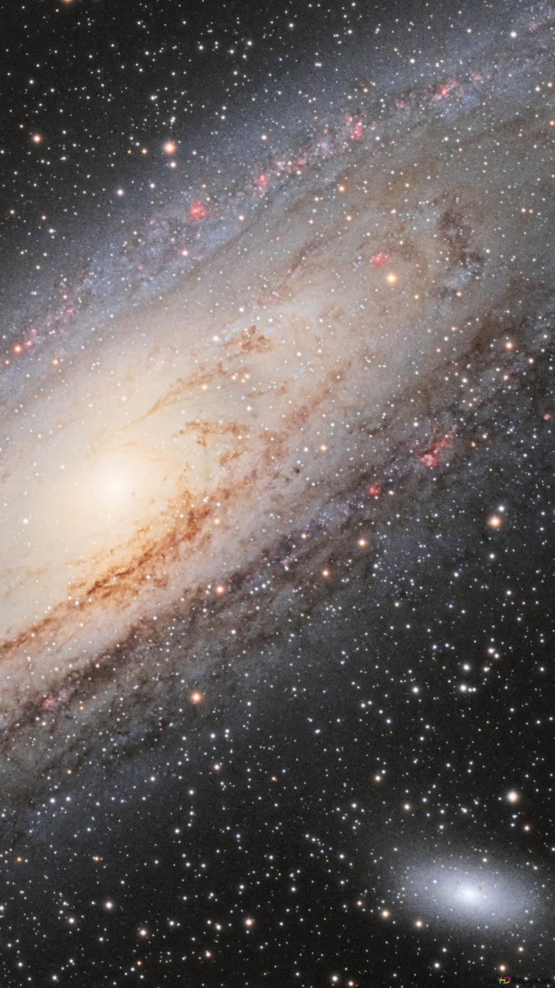 Galaxy Et Etoiles Hd Fond D Ecran Telecharger