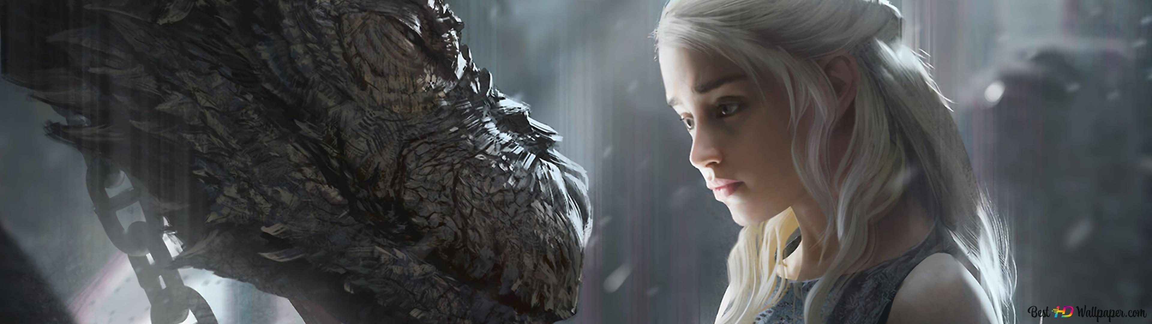 4k Wallpaper Game Of Thrones Dragon Wallpaper Hd