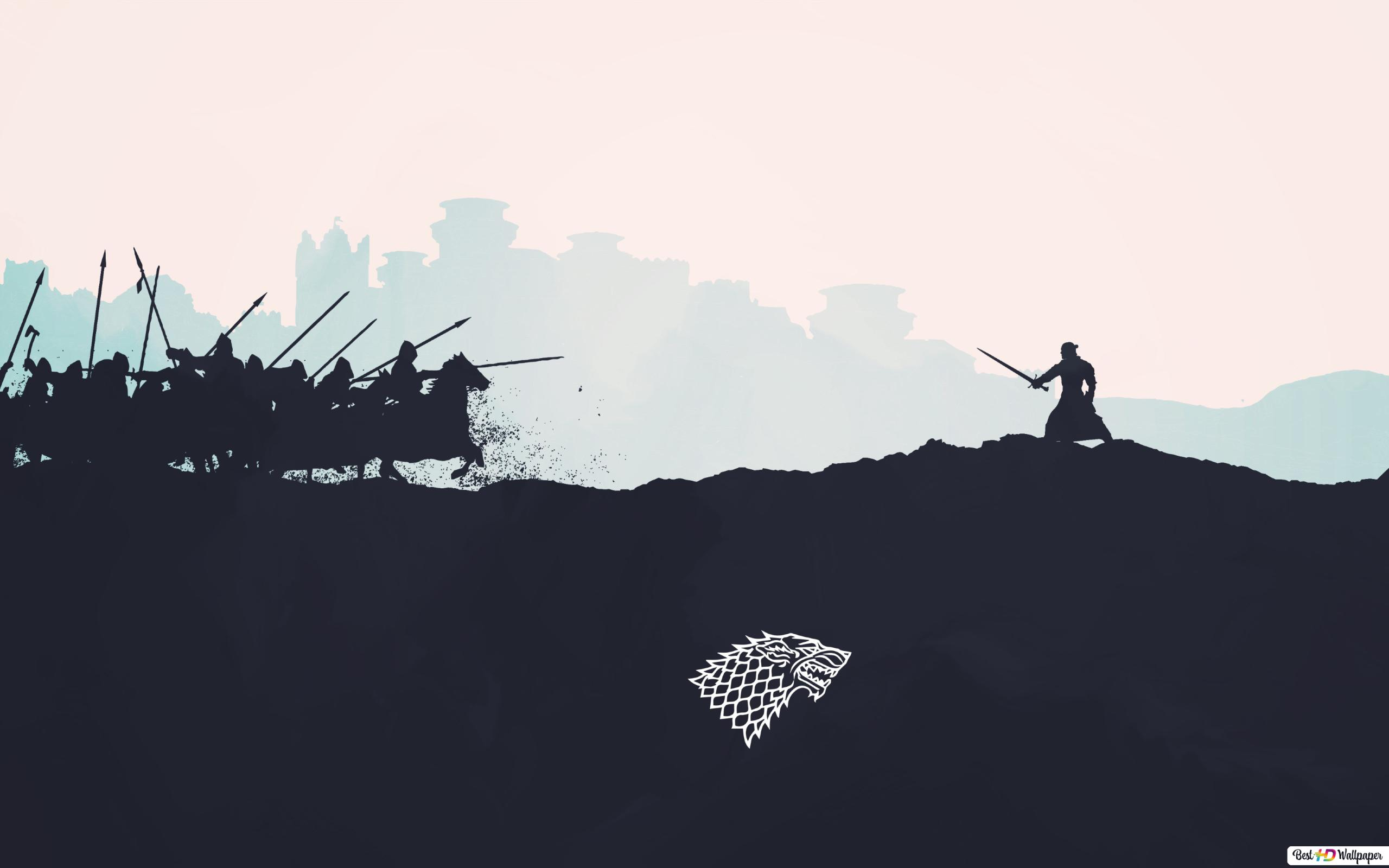 Game Of Thrones House Of Stark Hd Wallpaper Download