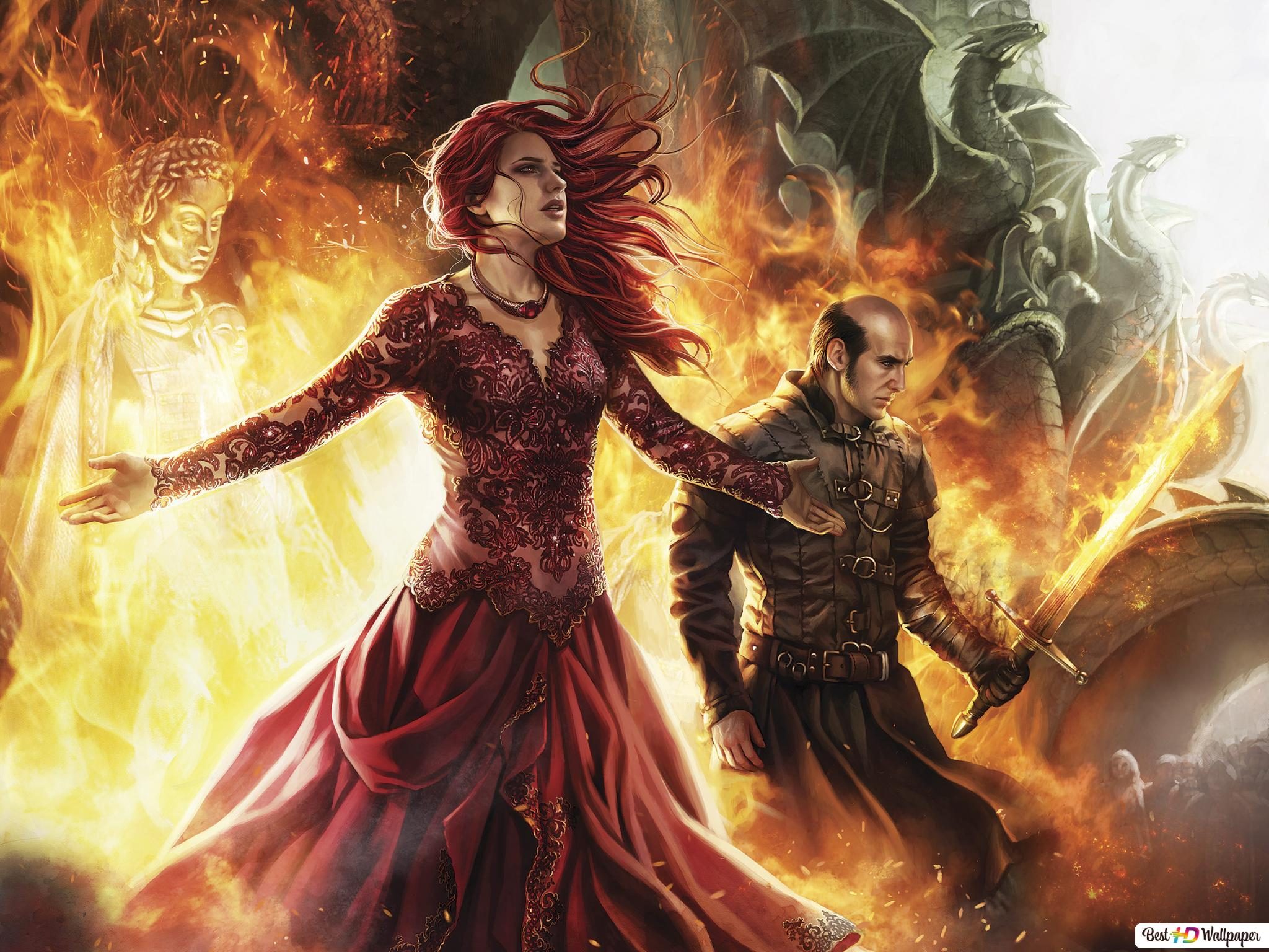Game Of Thrones Melisandre And Stannis Hd Wallpaper Download