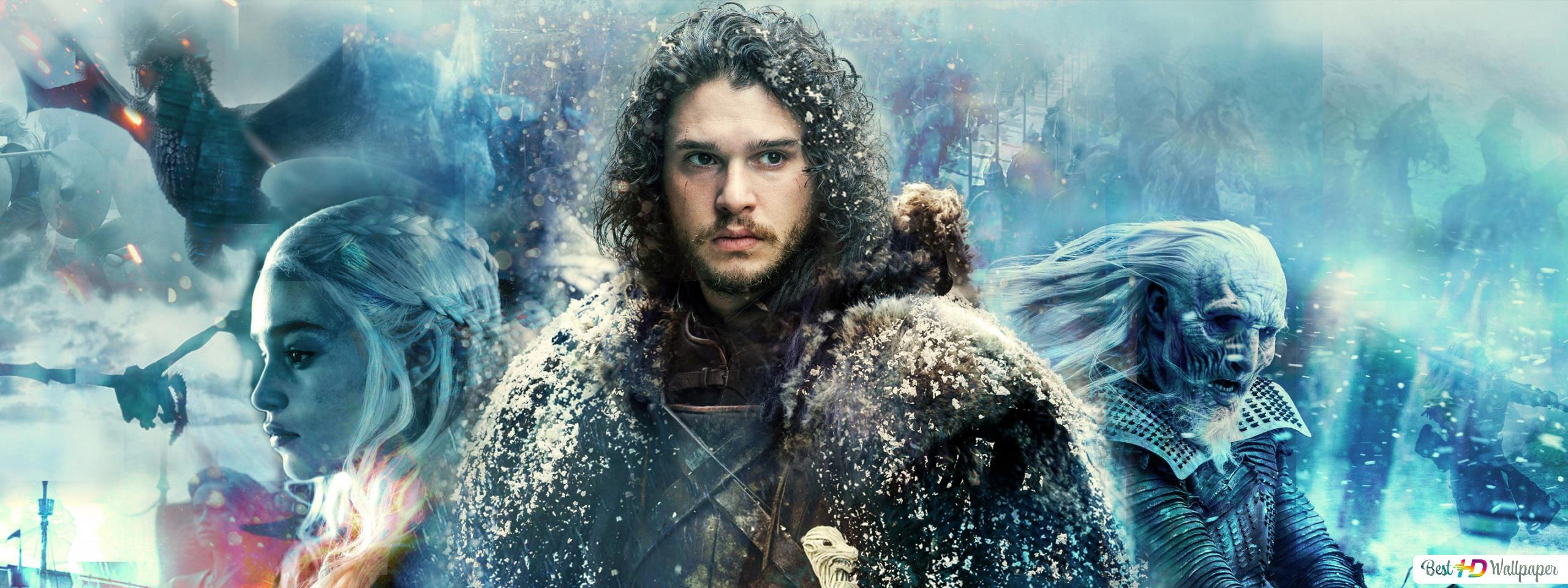Game Of Thrones Series Jon Snow Hd Wallpaper Download