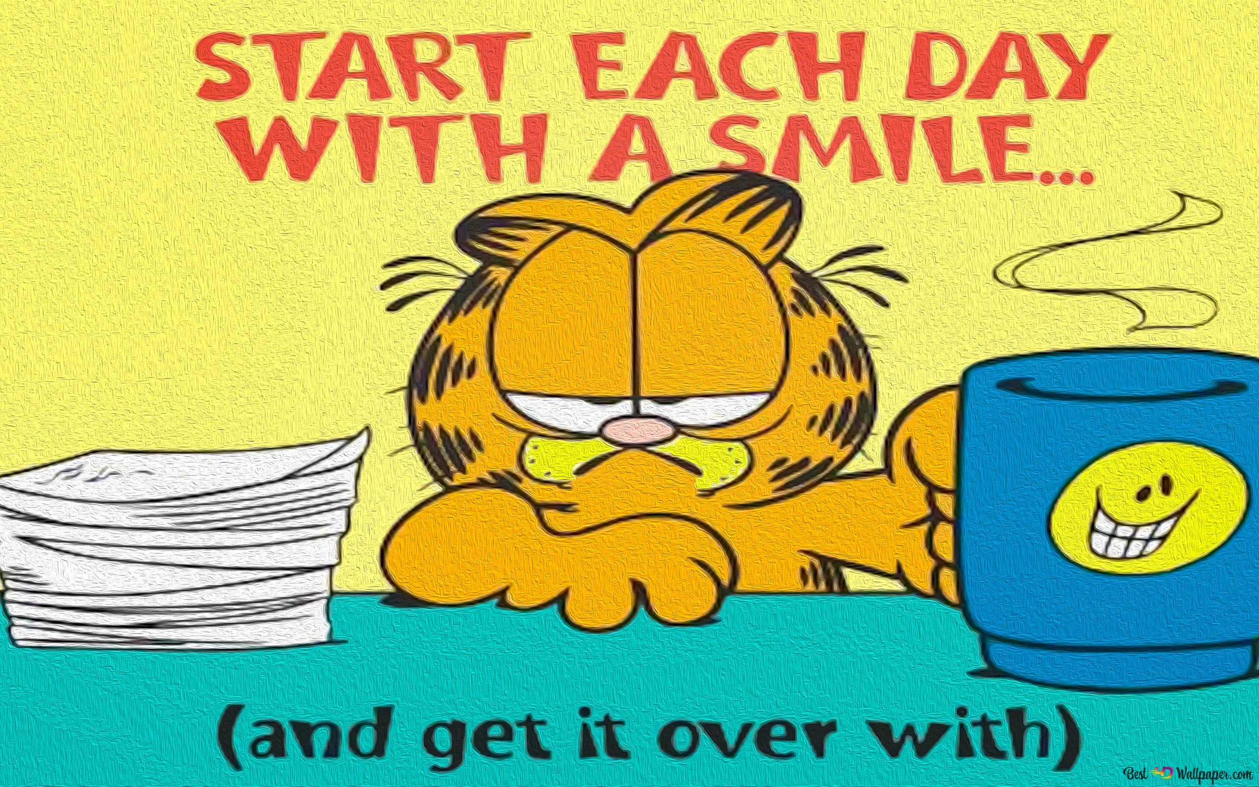 Garfield Hd Wallpaper Download