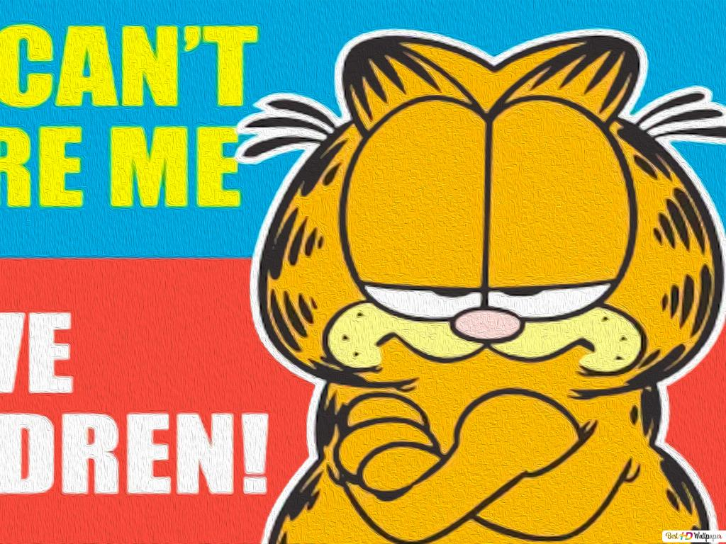 Garfield You Can T Scare Me Hd Wallpaper Download