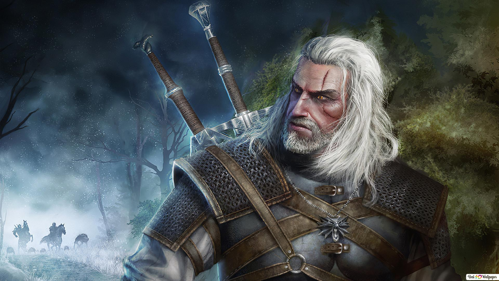 Geralt Of Rivia The Witcher 3 Hd Wallpaper Download