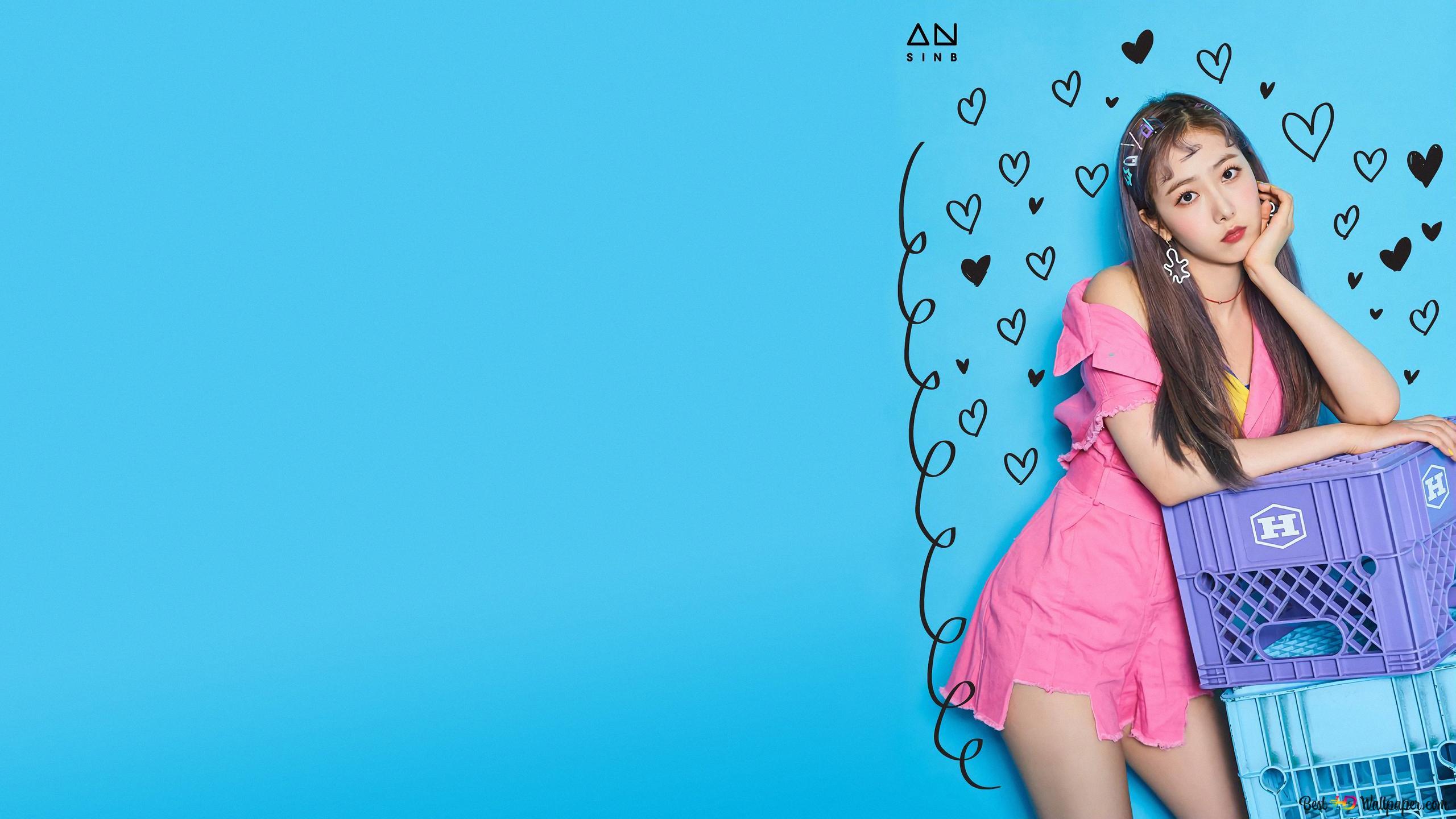Gfriendからsinb 黄ウン Bi バンドk Pop Hd壁紙のダウンロード